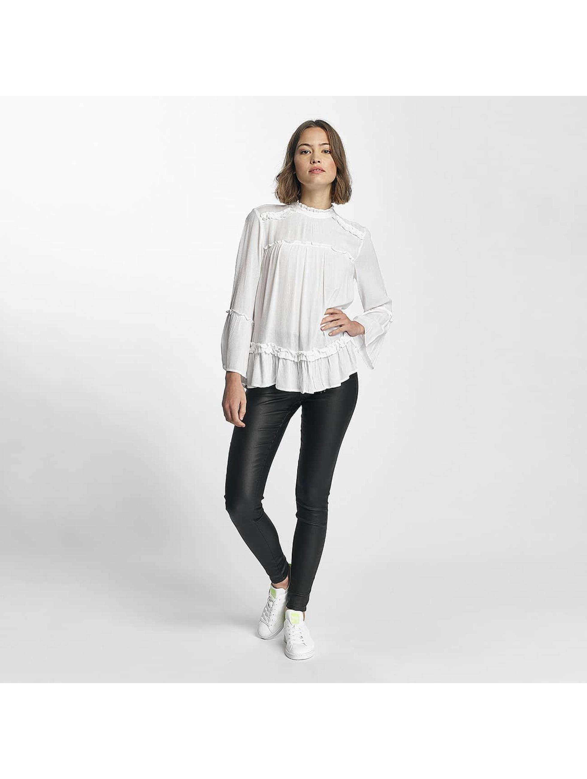 Pieces T-Shirt manches longues pcHanne blanc