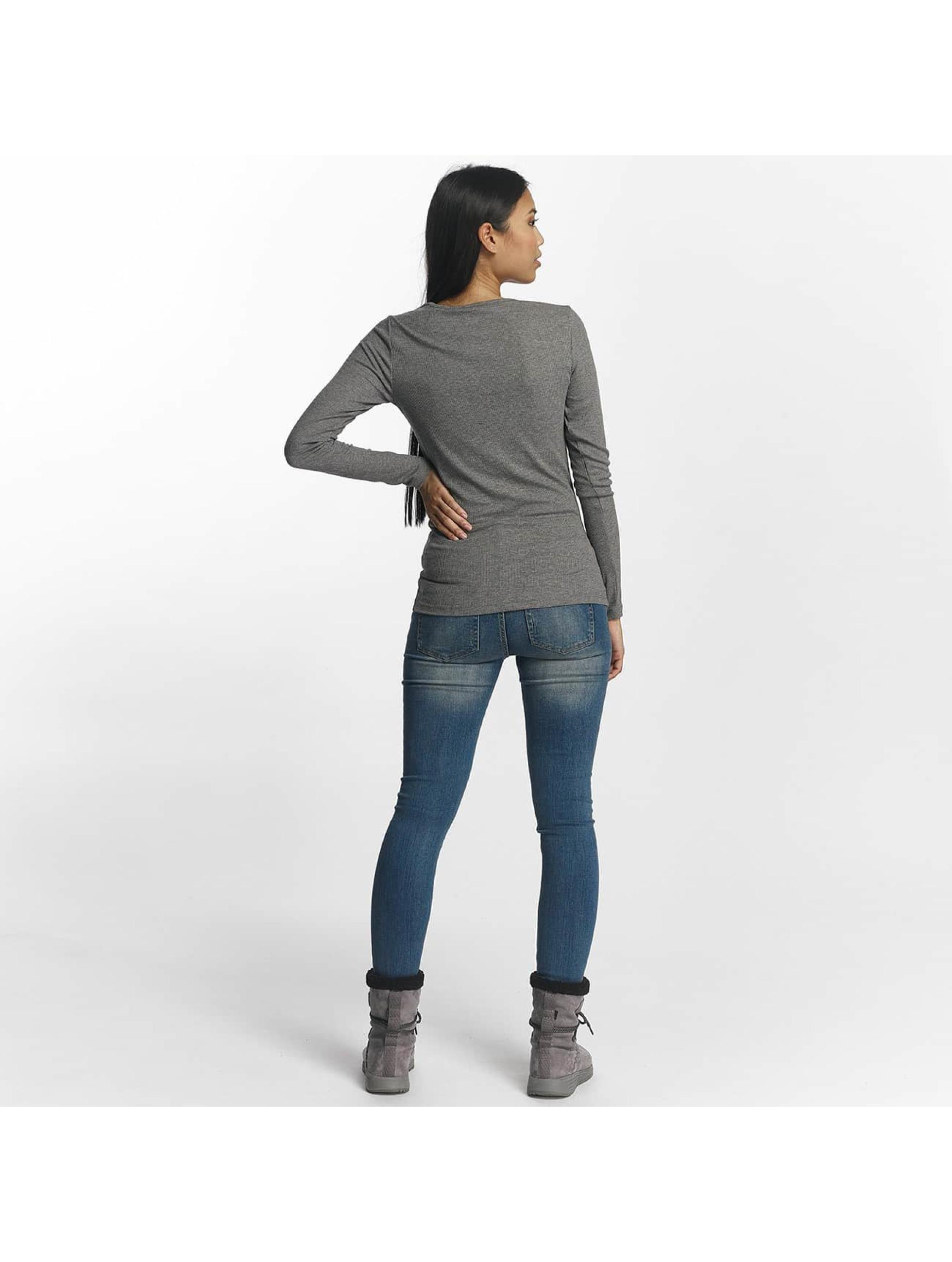 Pieces T-Shirt manches longues pcGanie gris
