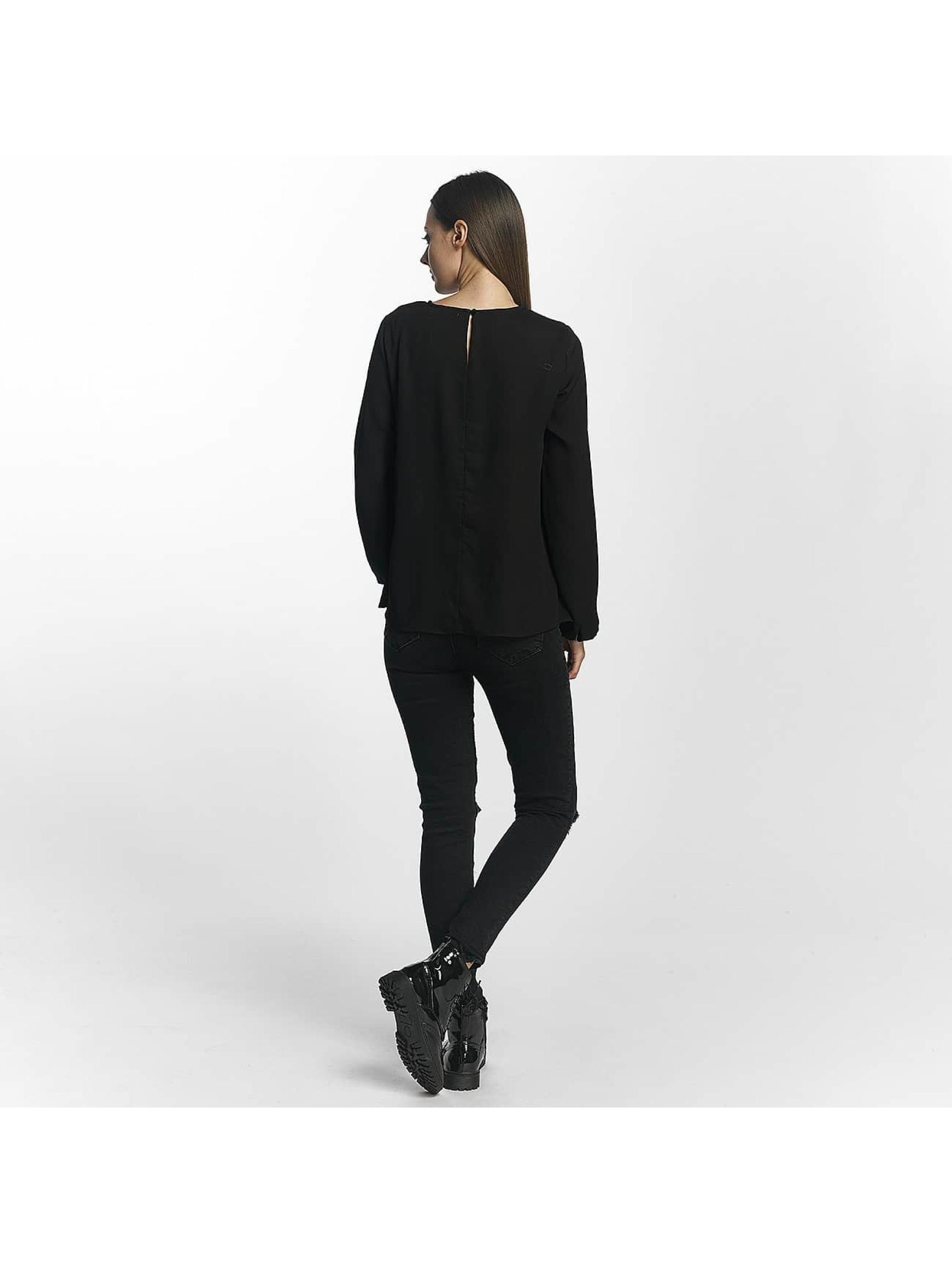 Pieces T-Shirt manches longues pcMacy noir