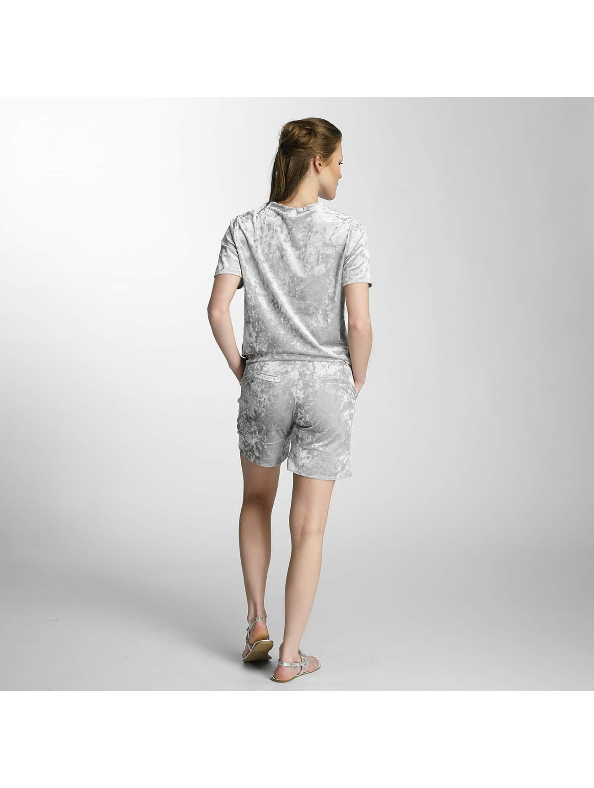 Pieces T-Shirt pcEdith silver colored
