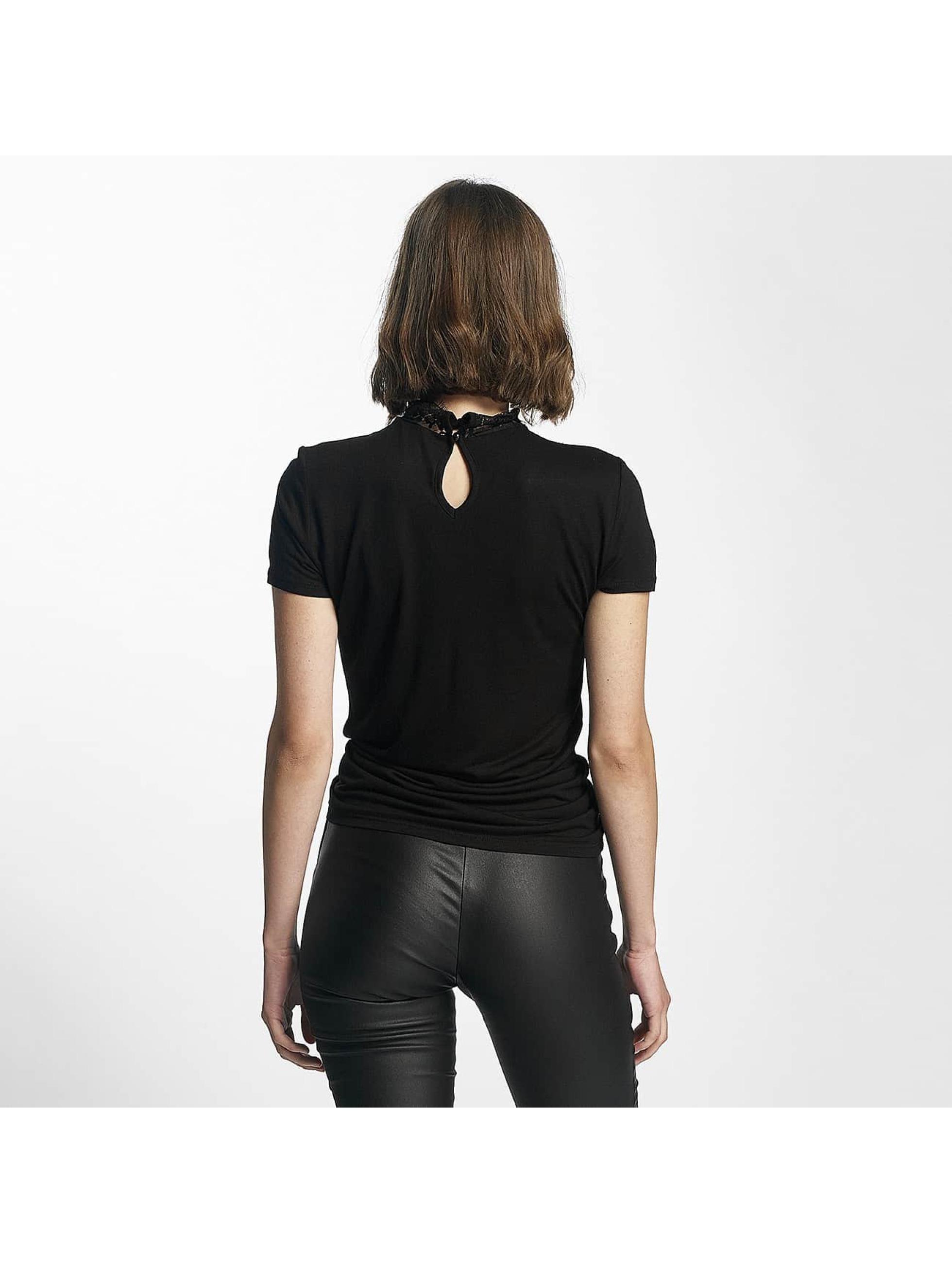 Pieces t-shirt pcBrianna zwart
