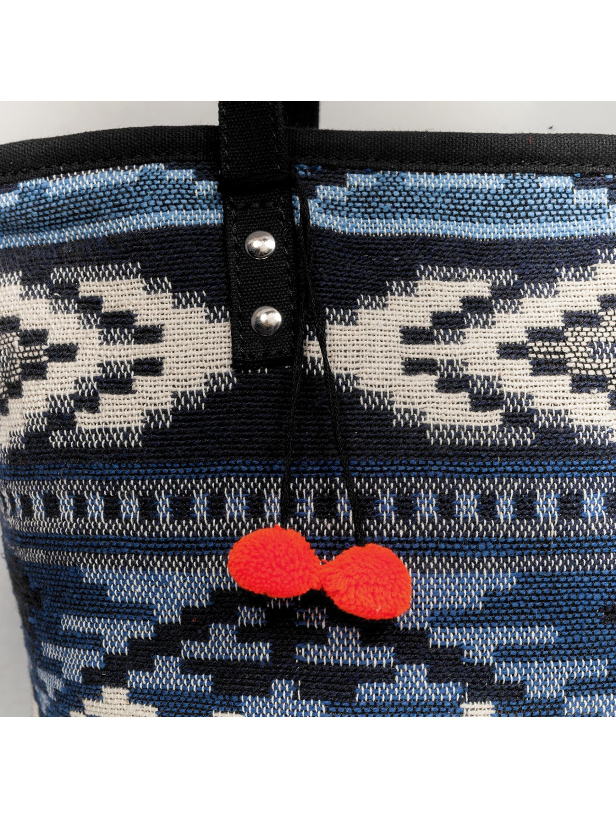 Pieces Tasche pcBelle blau