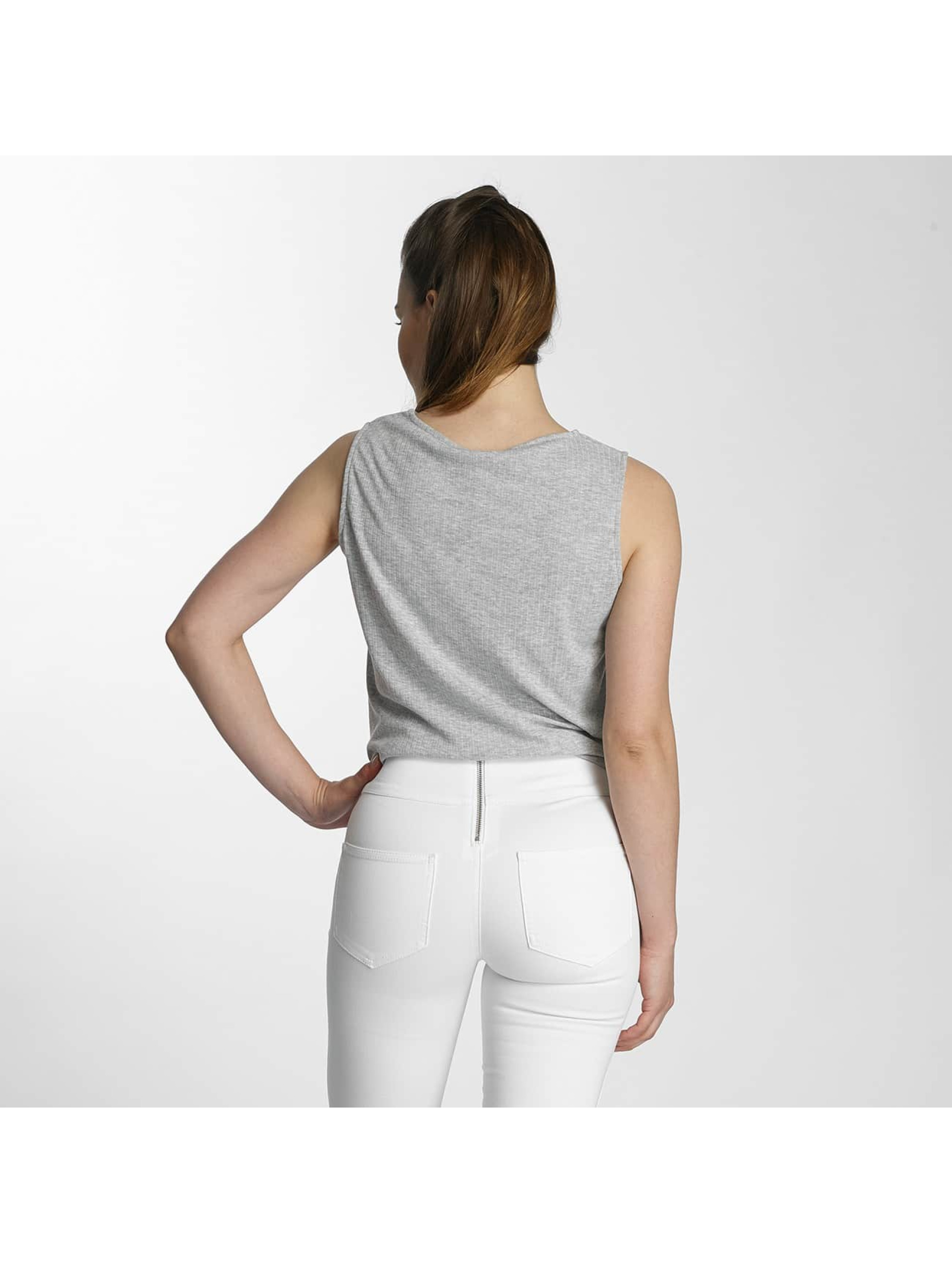 Pieces Top pcAlba grey