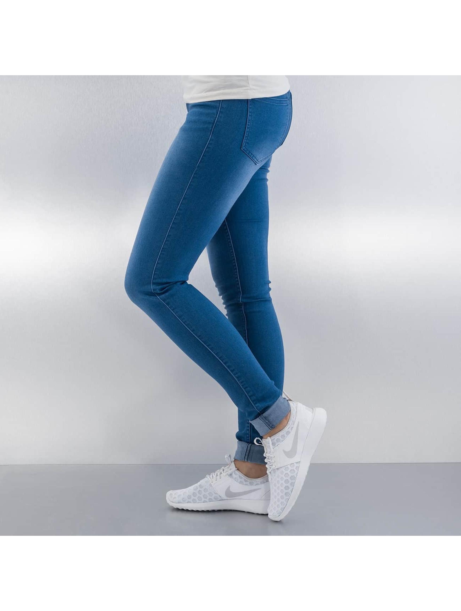 Pieces Tynne bukser Just Jute blå