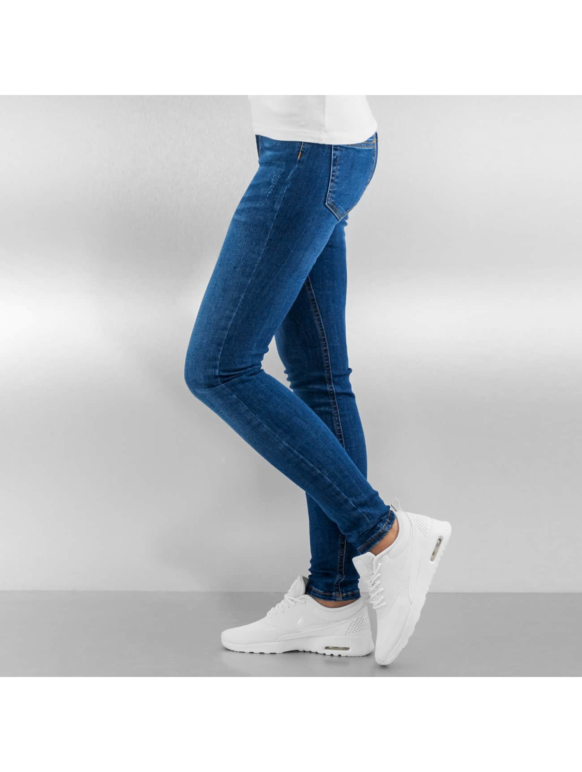 Pieces Tynne bukser pcJust New Delly blå