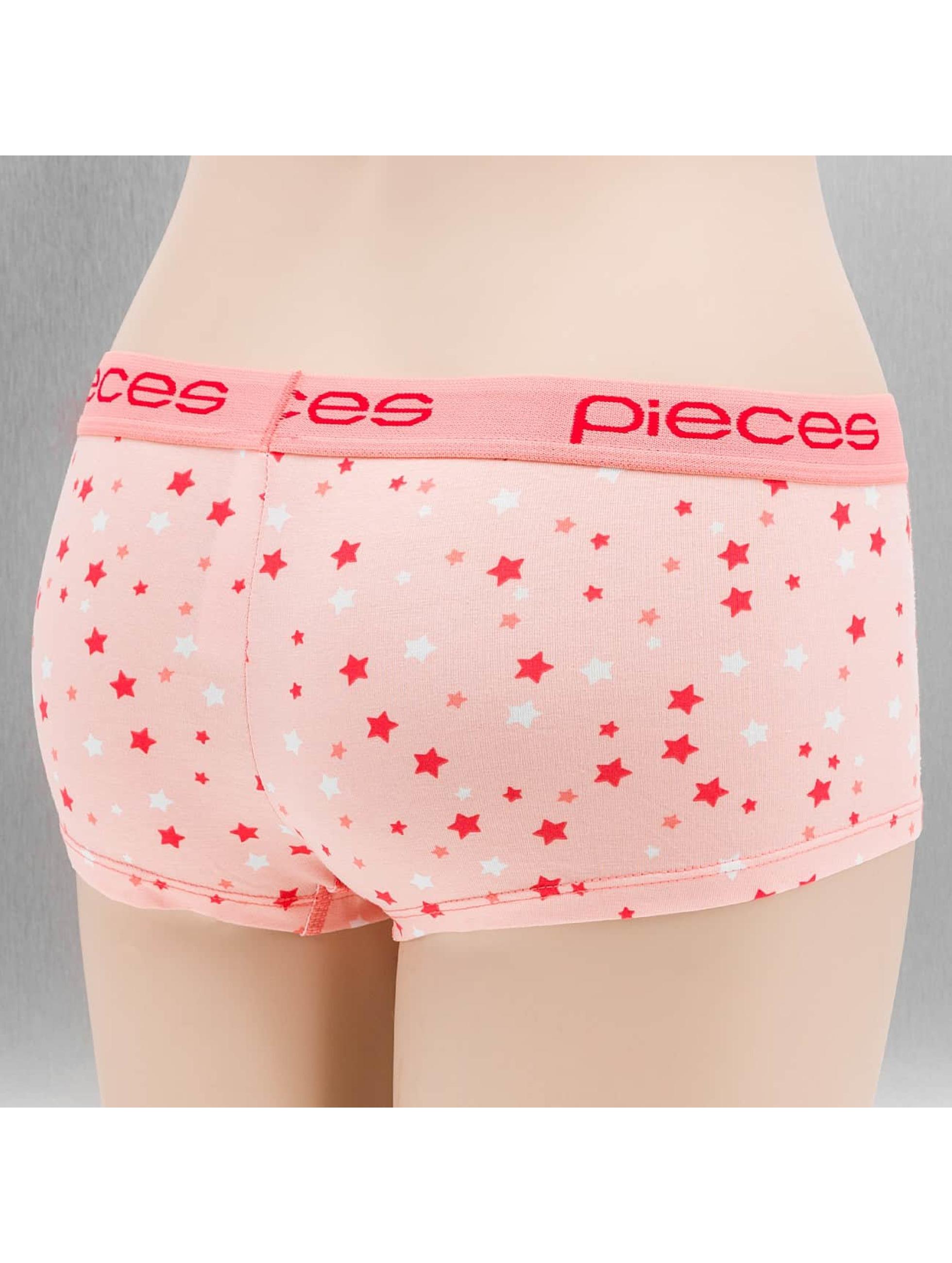 Pieces Underwear pcLogo rosa