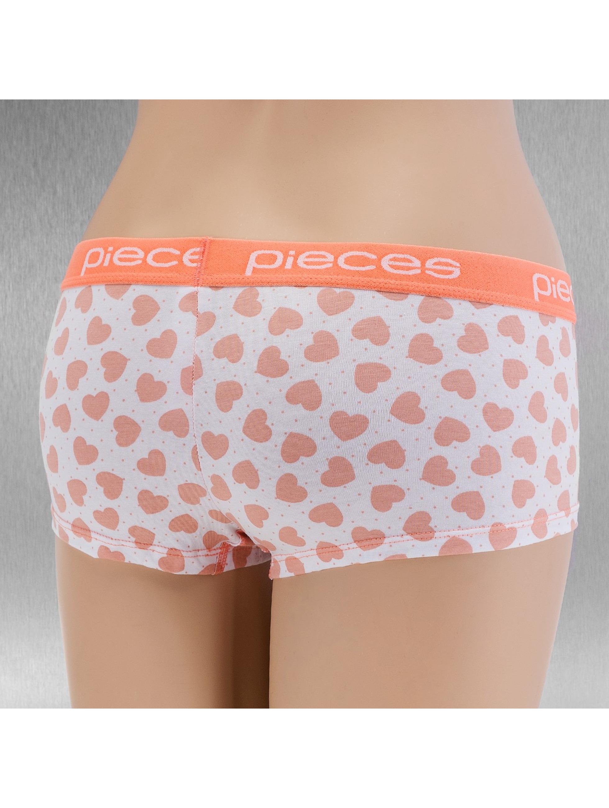 Pieces Unterwäsche pcLogo orange