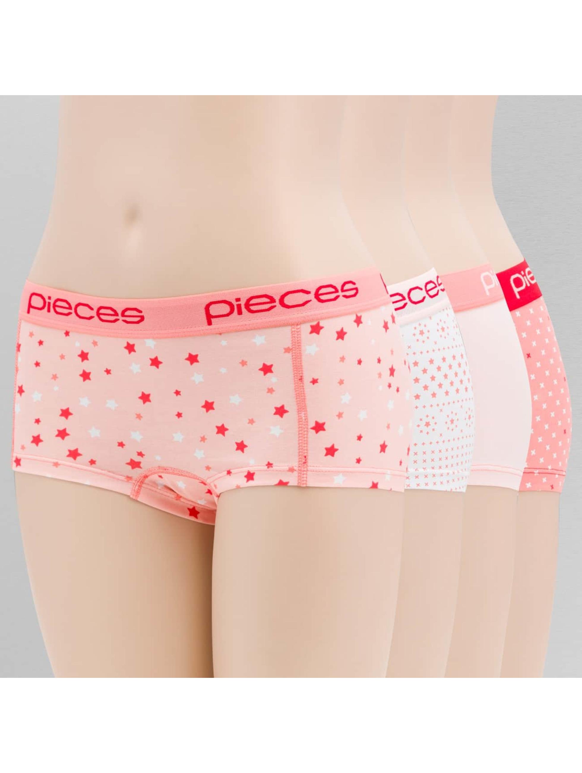 Pieces Unterwäsche pcLogo rosa