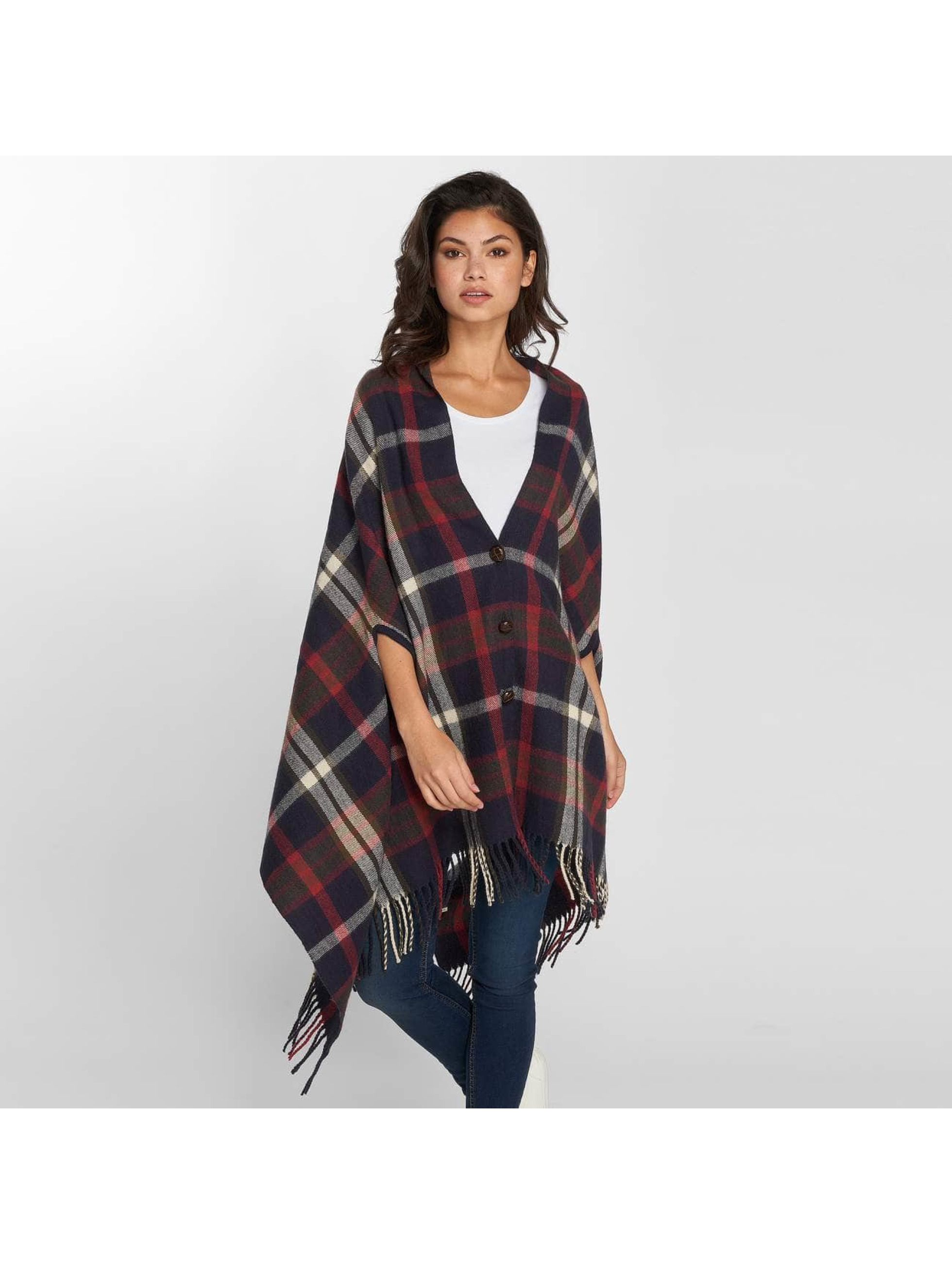 Pieces vest PcRylana Poncho blauw