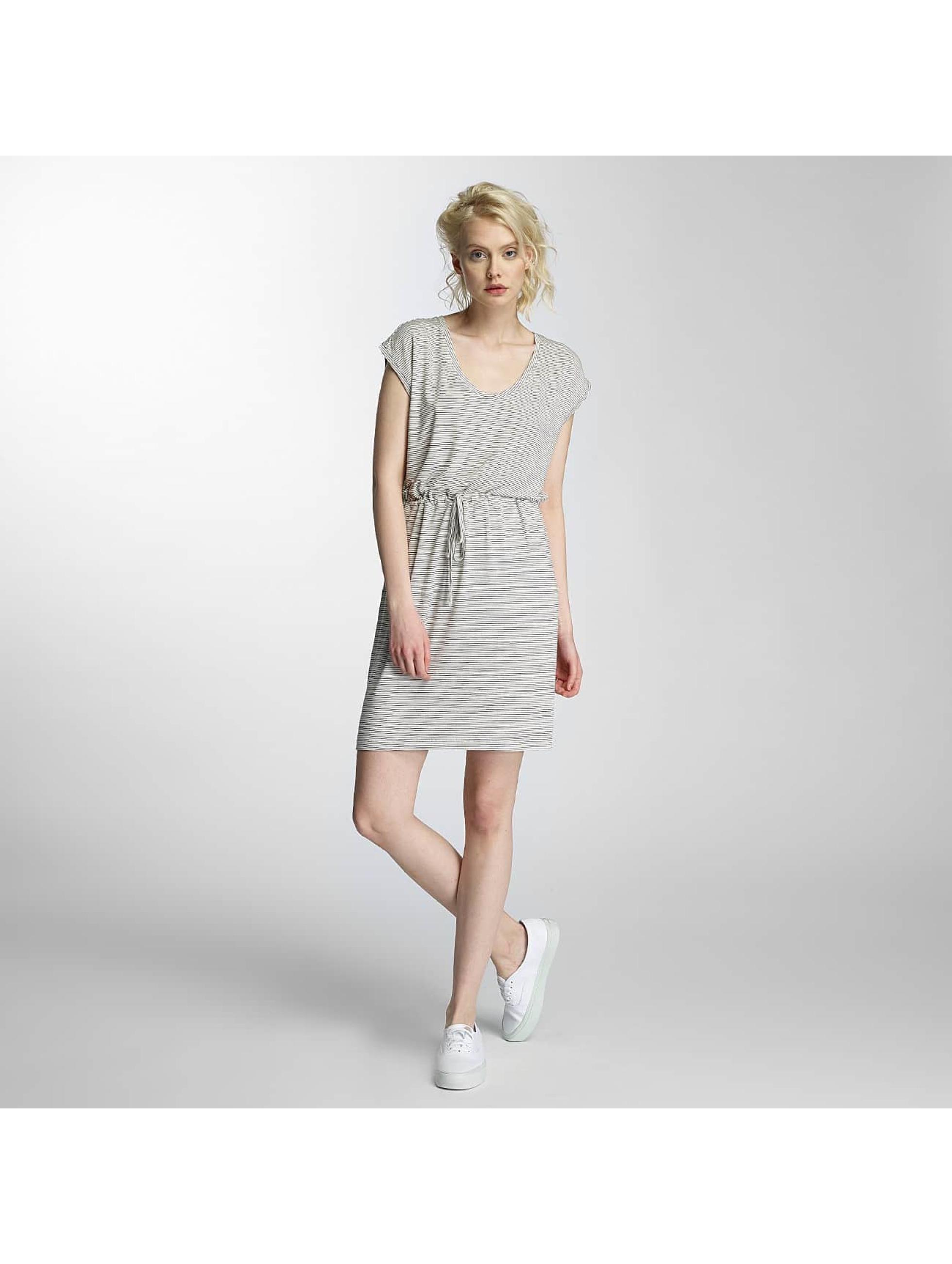 Pieces Vestido pcBillo Stripe With String blanco