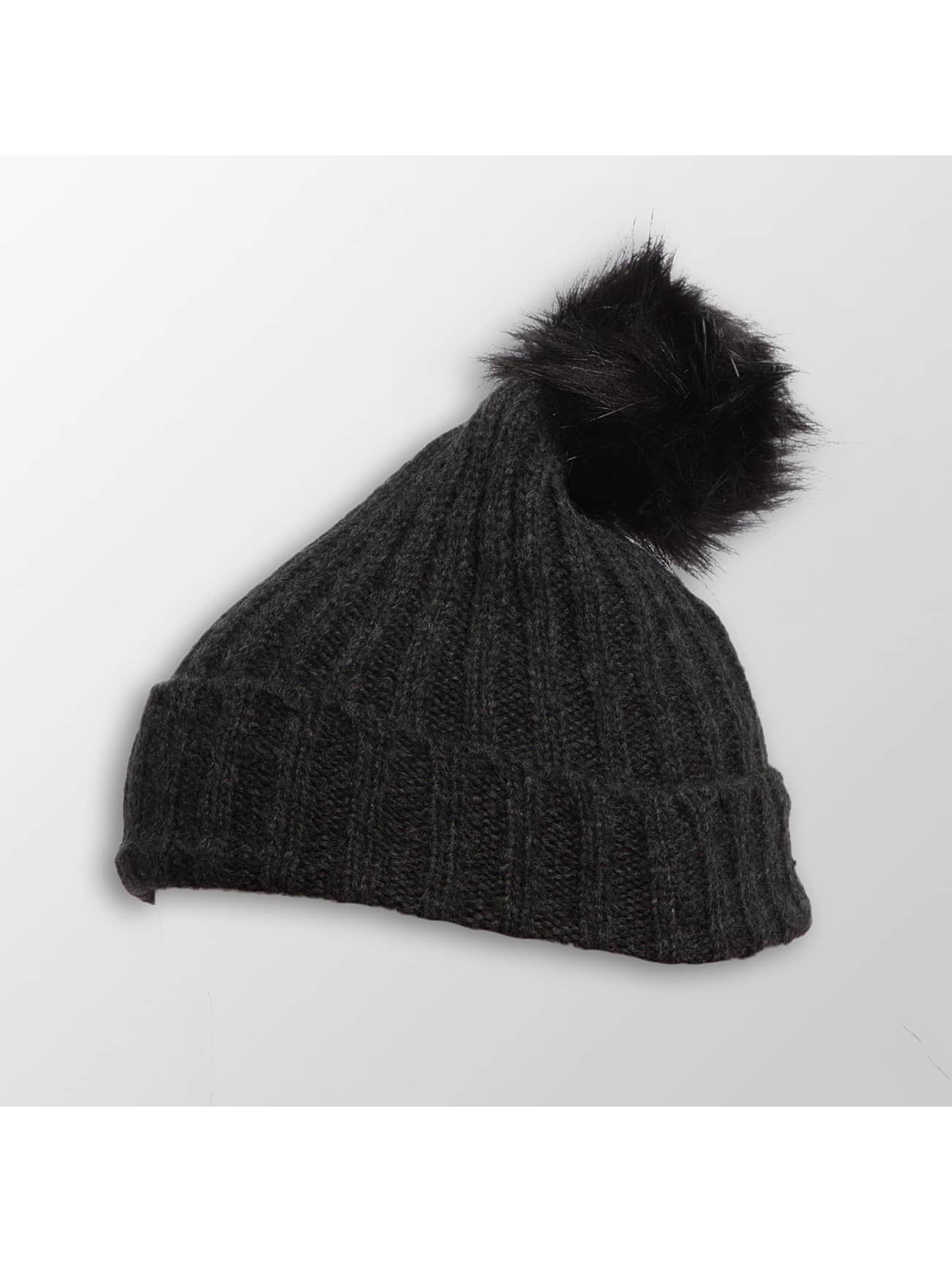 Pieces Winter Bonnet pcVaren grey