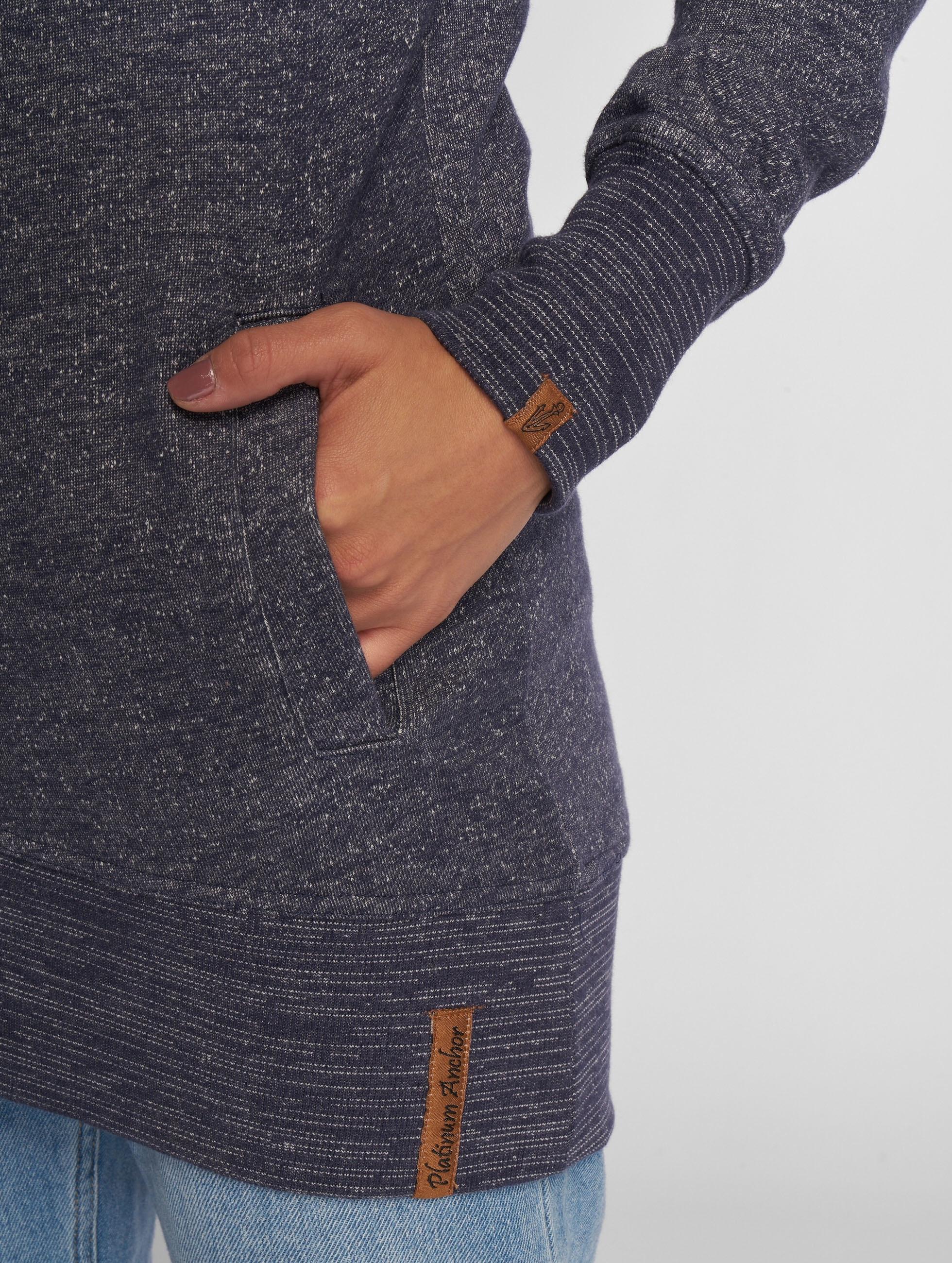 Platinum Anchor Bluzy z kapturem Manuka niebieski