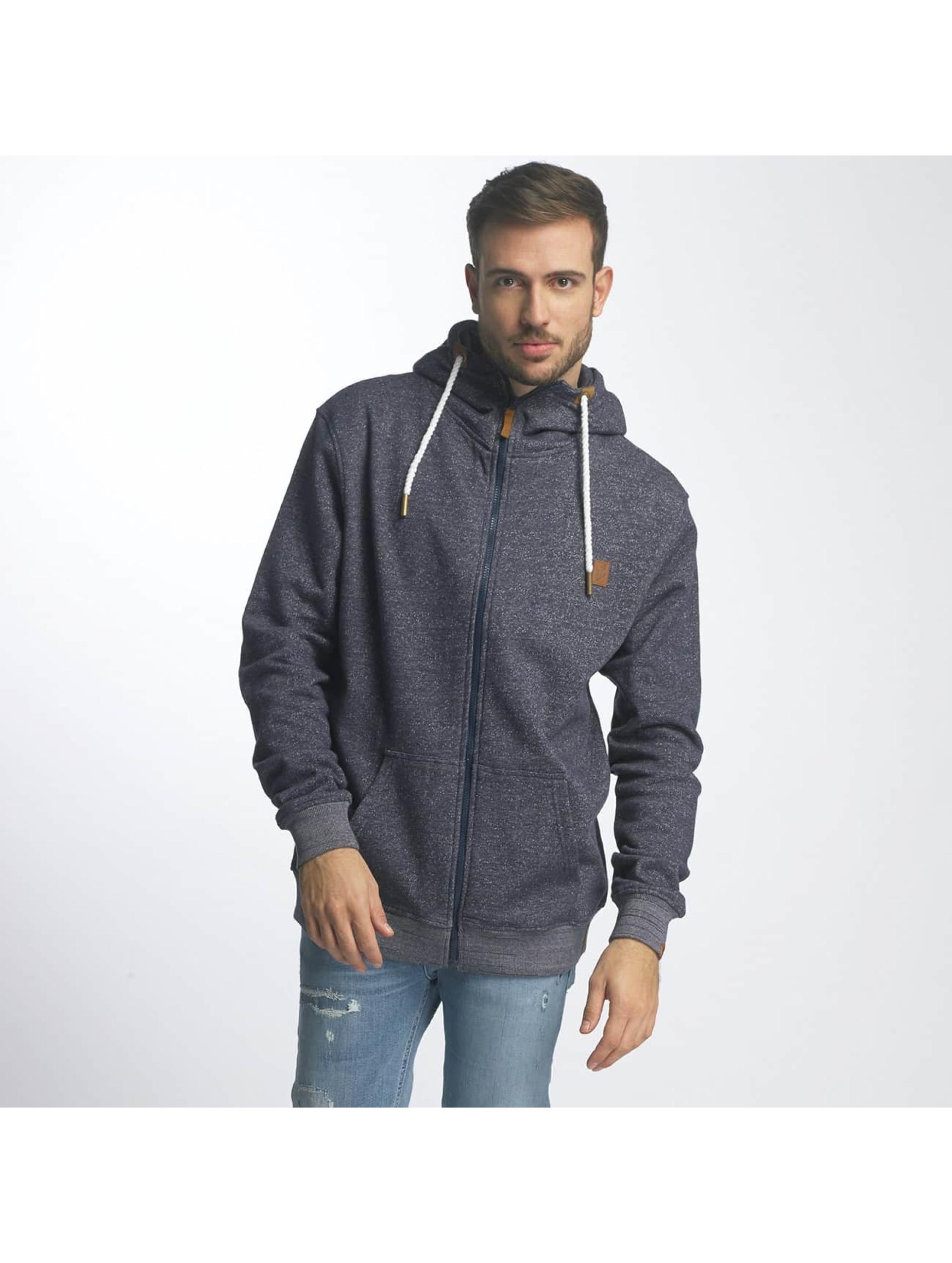 Platinum Anchor Hoodies con zip Hookipa blu