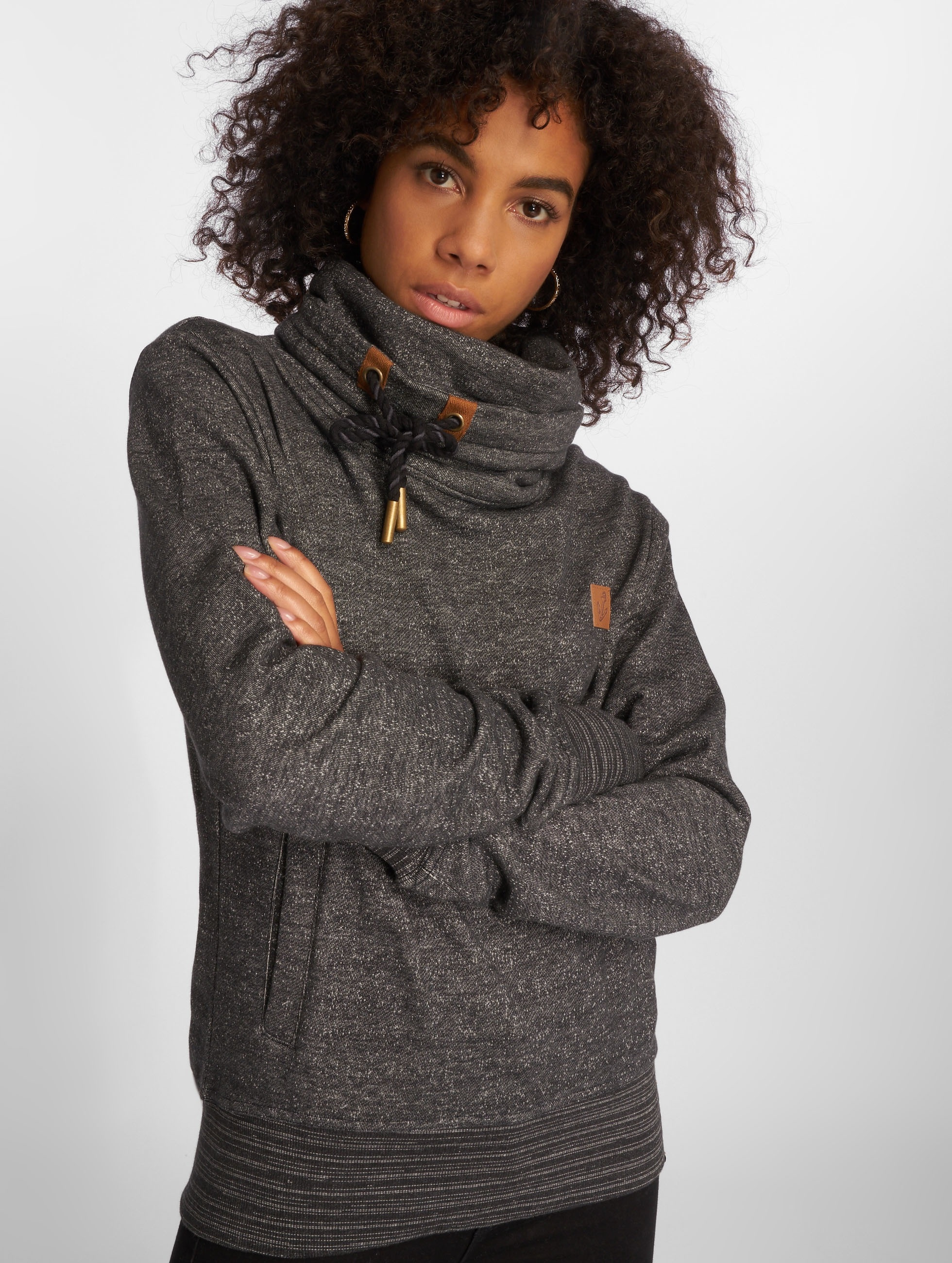 Platinum Anchor Pullover Makena grau