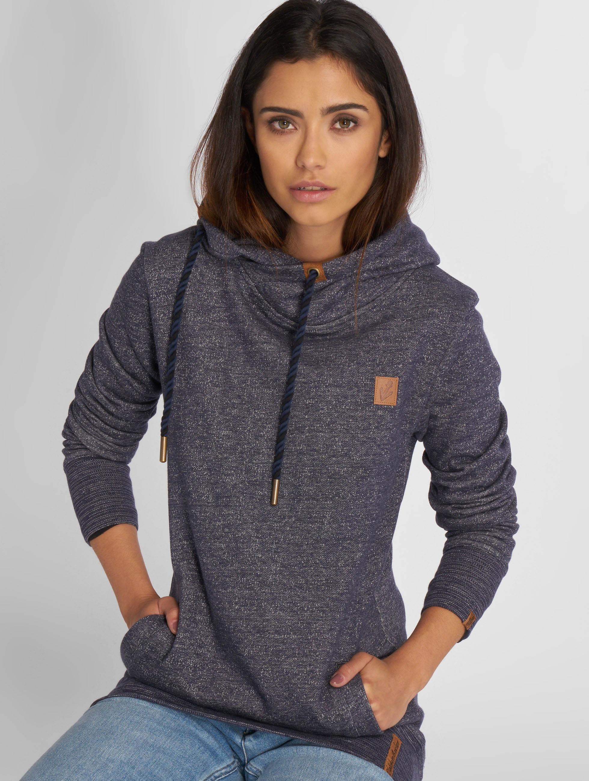 Platinum Anchor Sweat capuche Manuka bleu