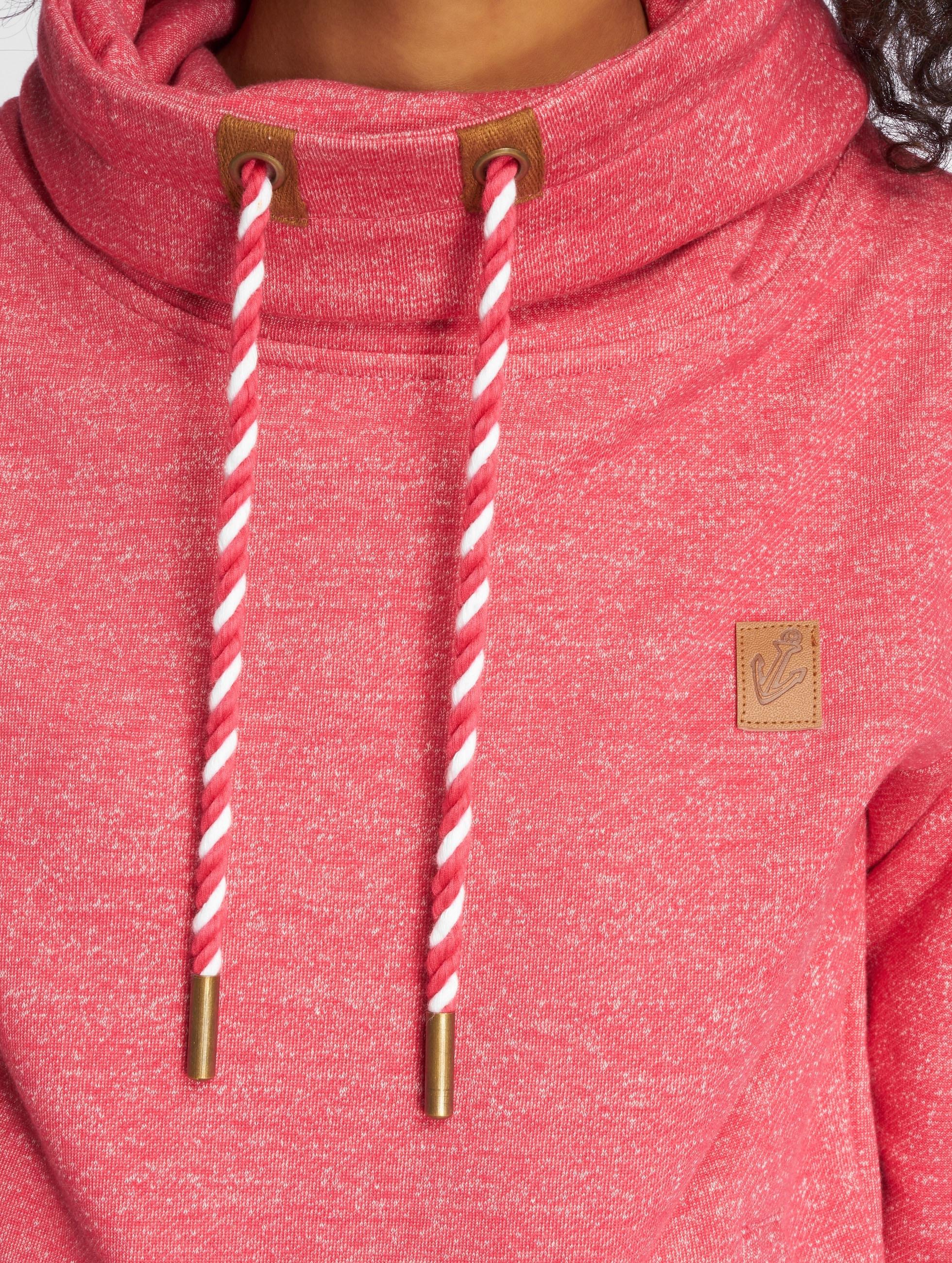 Platinum Anchor trui Makena rood