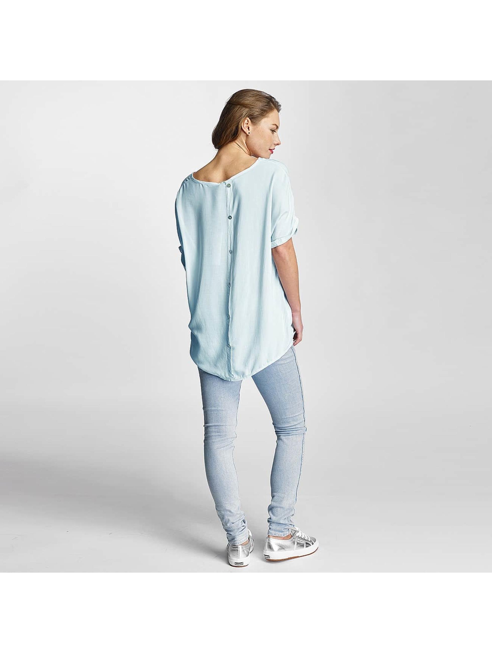Poolgirl Bluse Simplicity blau