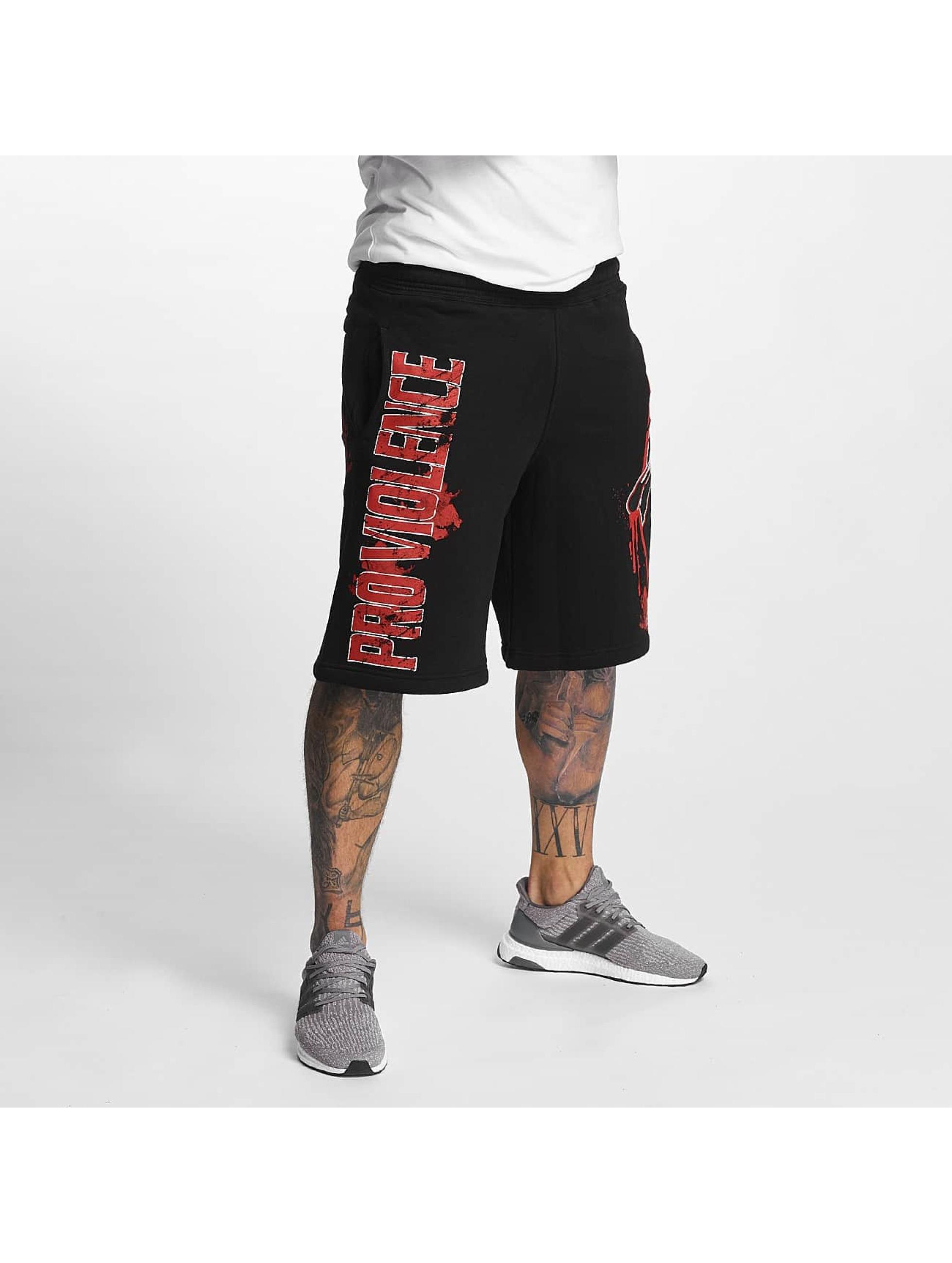 Pro Violence Streetwear Šortky Bloodsport èierna