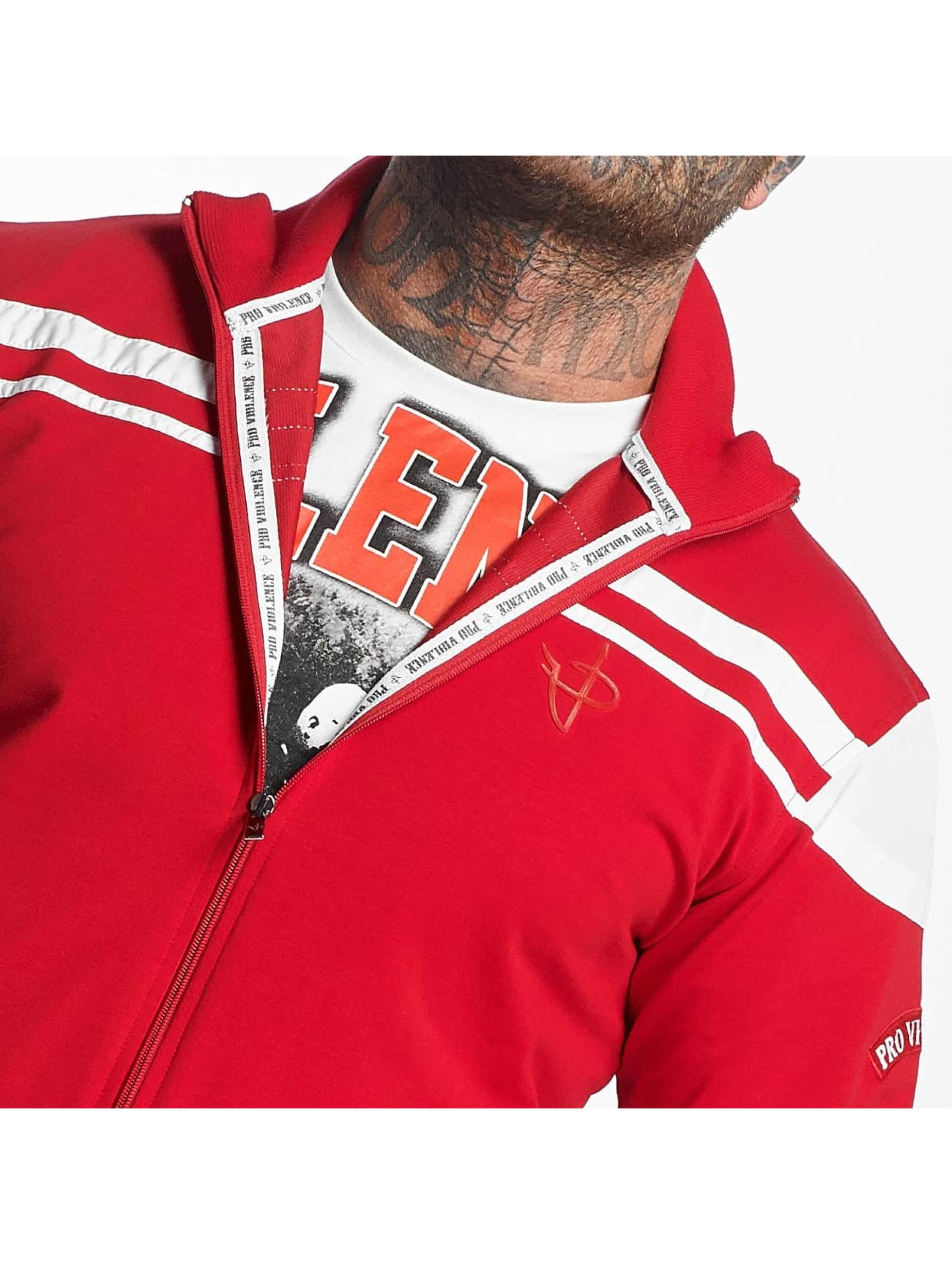 Pro Violence Streetwear Anzug Cosy rot