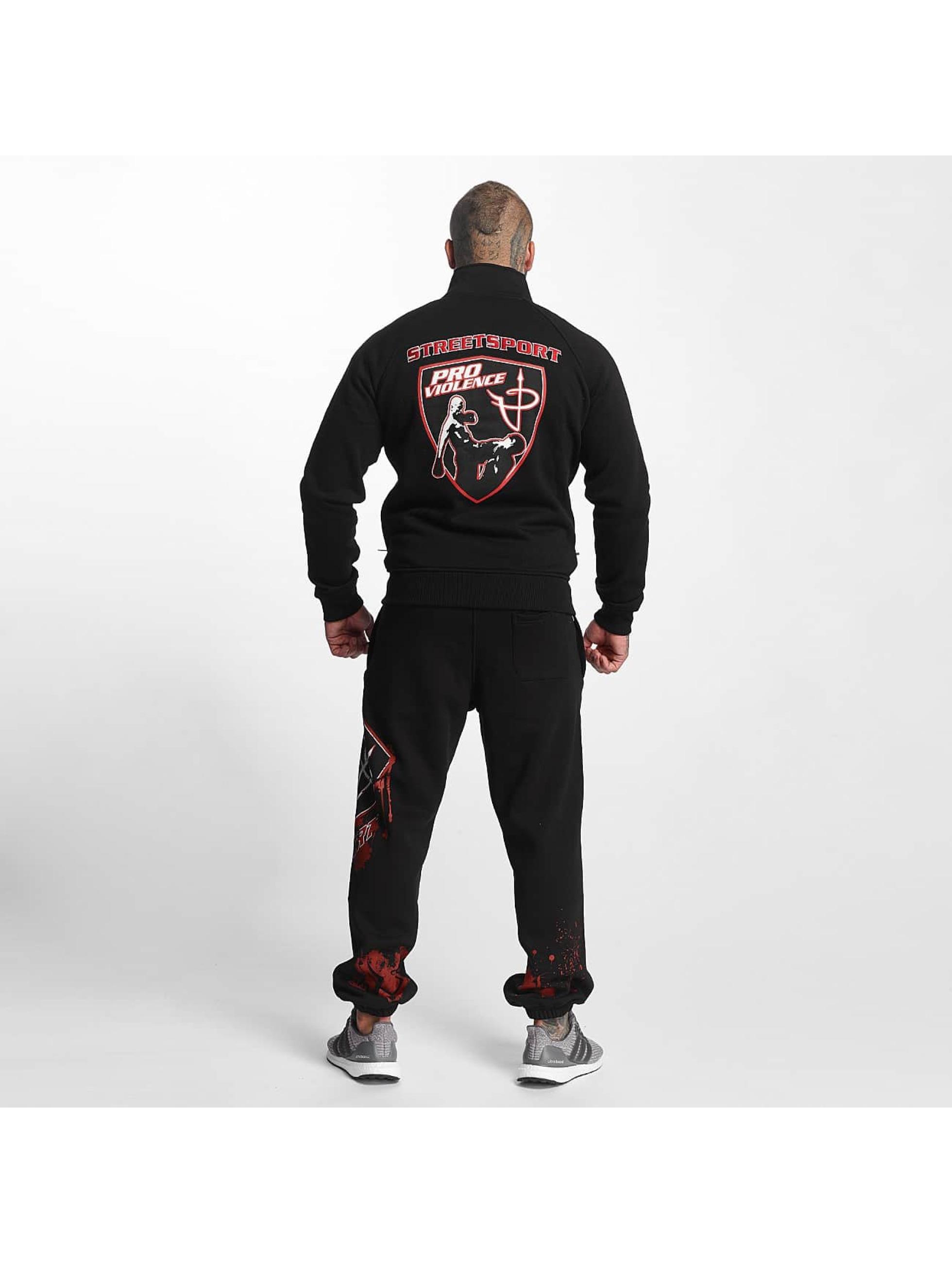 Pro Violence Streetwear Chaqueta de entretiempo Adrenlin Hunter negro