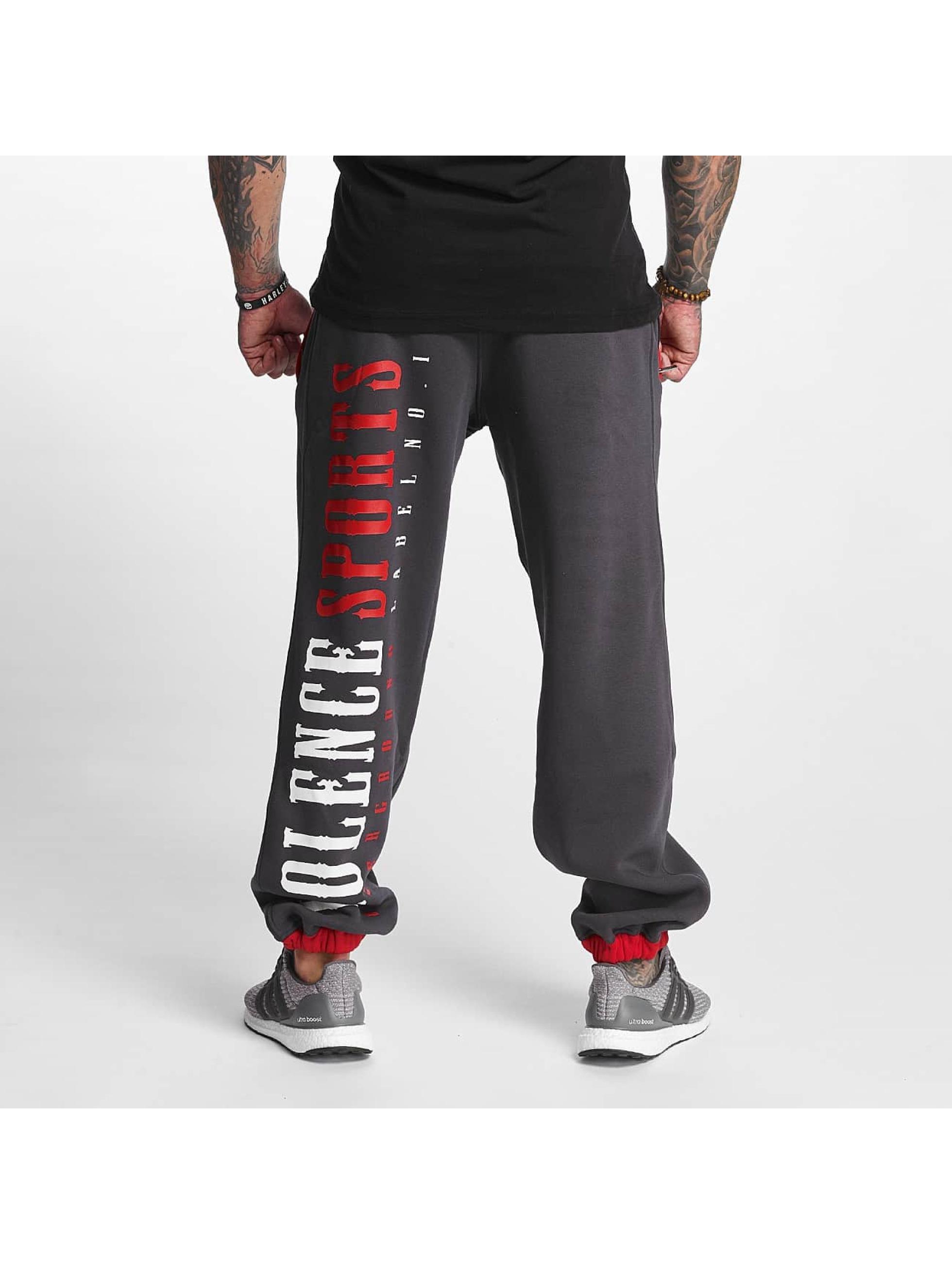 Pro Violence Streetwear joggingbroek Sport grijs