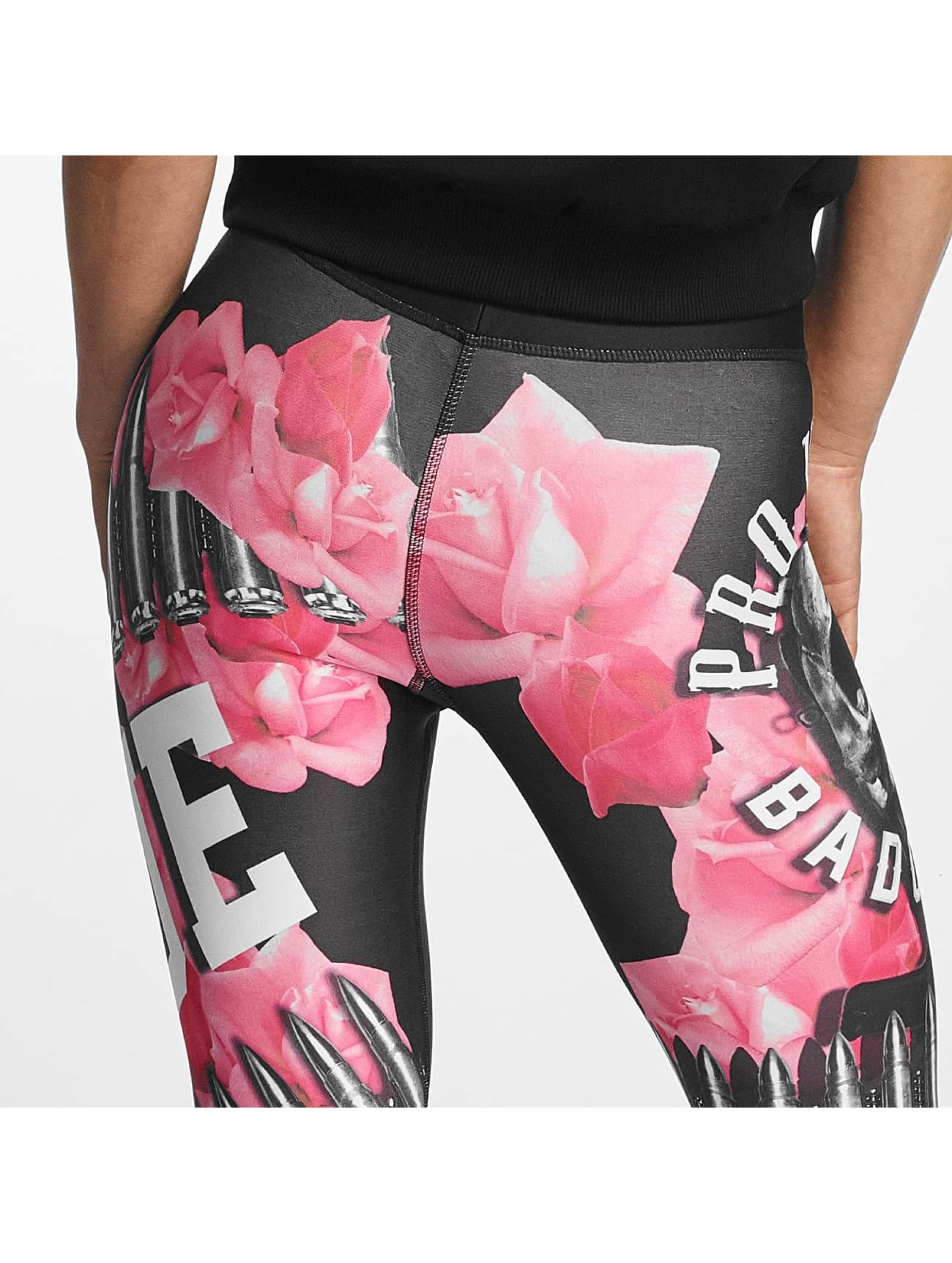 Pro Violence Streetwear Legging True Camo zwart