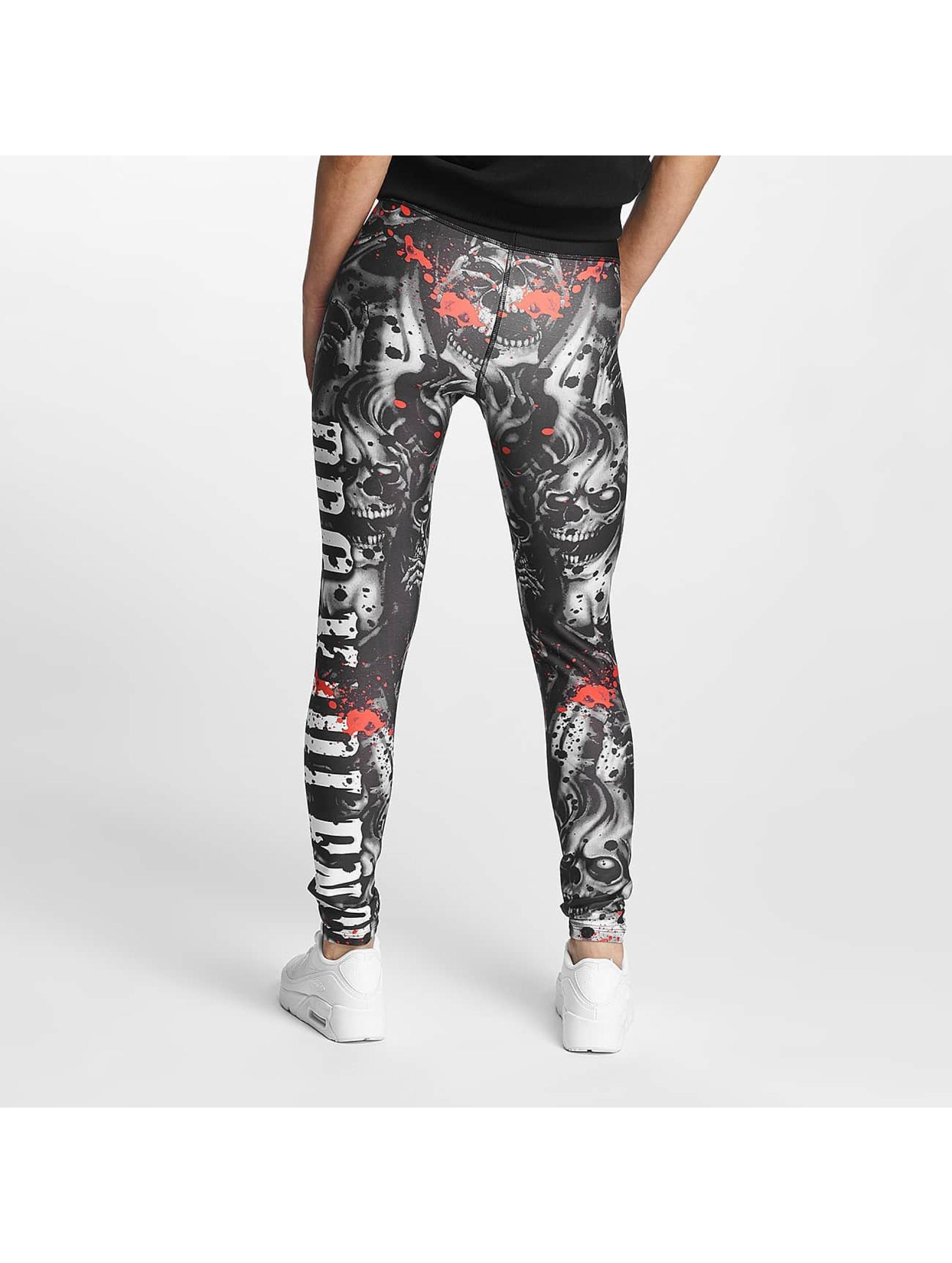 Pro Violence Streetwear Leggings/Treggings Omerta czarny