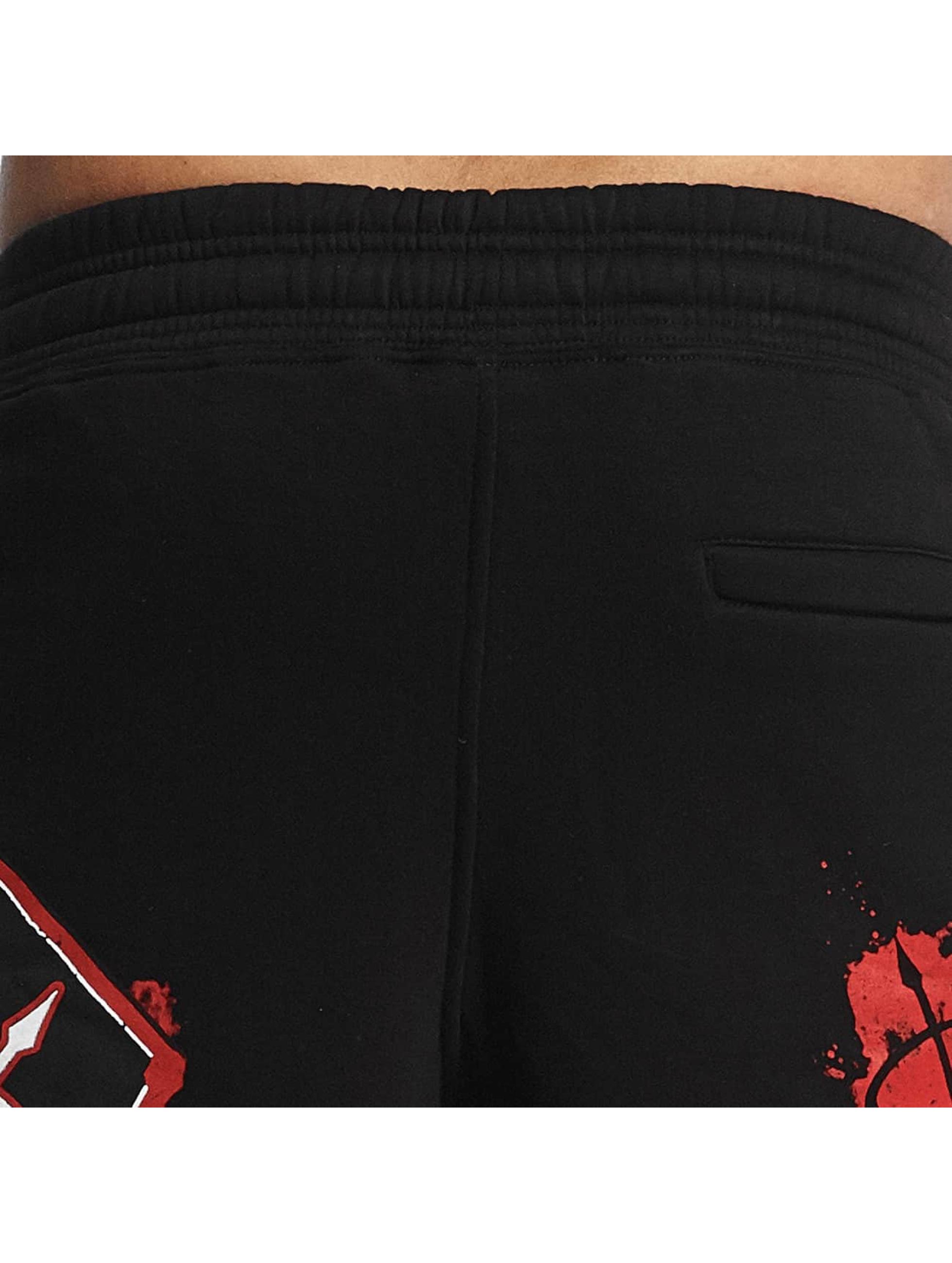 Pro Violence Streetwear Pantalón cortos Bloodsport negro