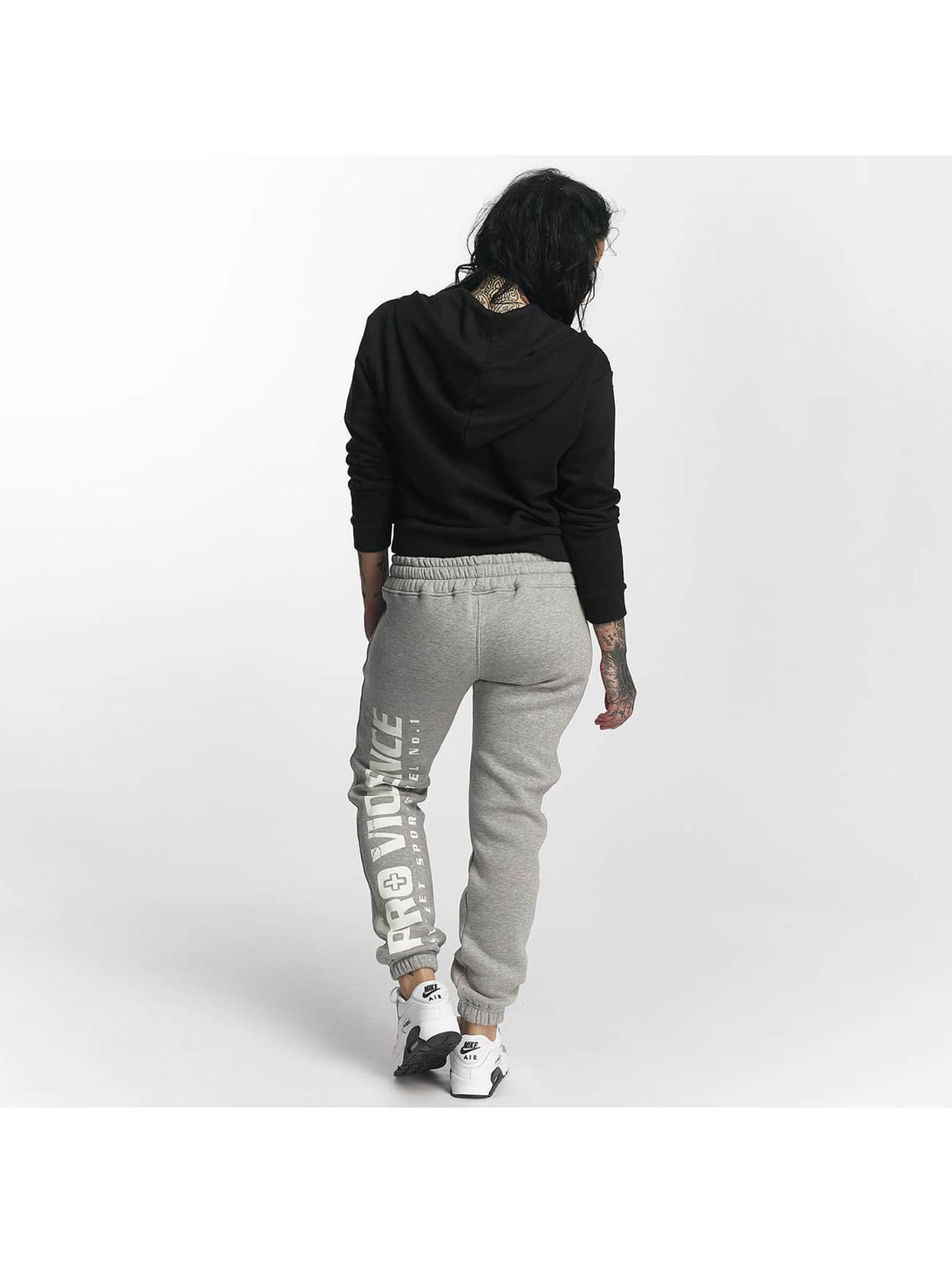 Pro Violence Streetwear Pantalón deportivo Basic gris