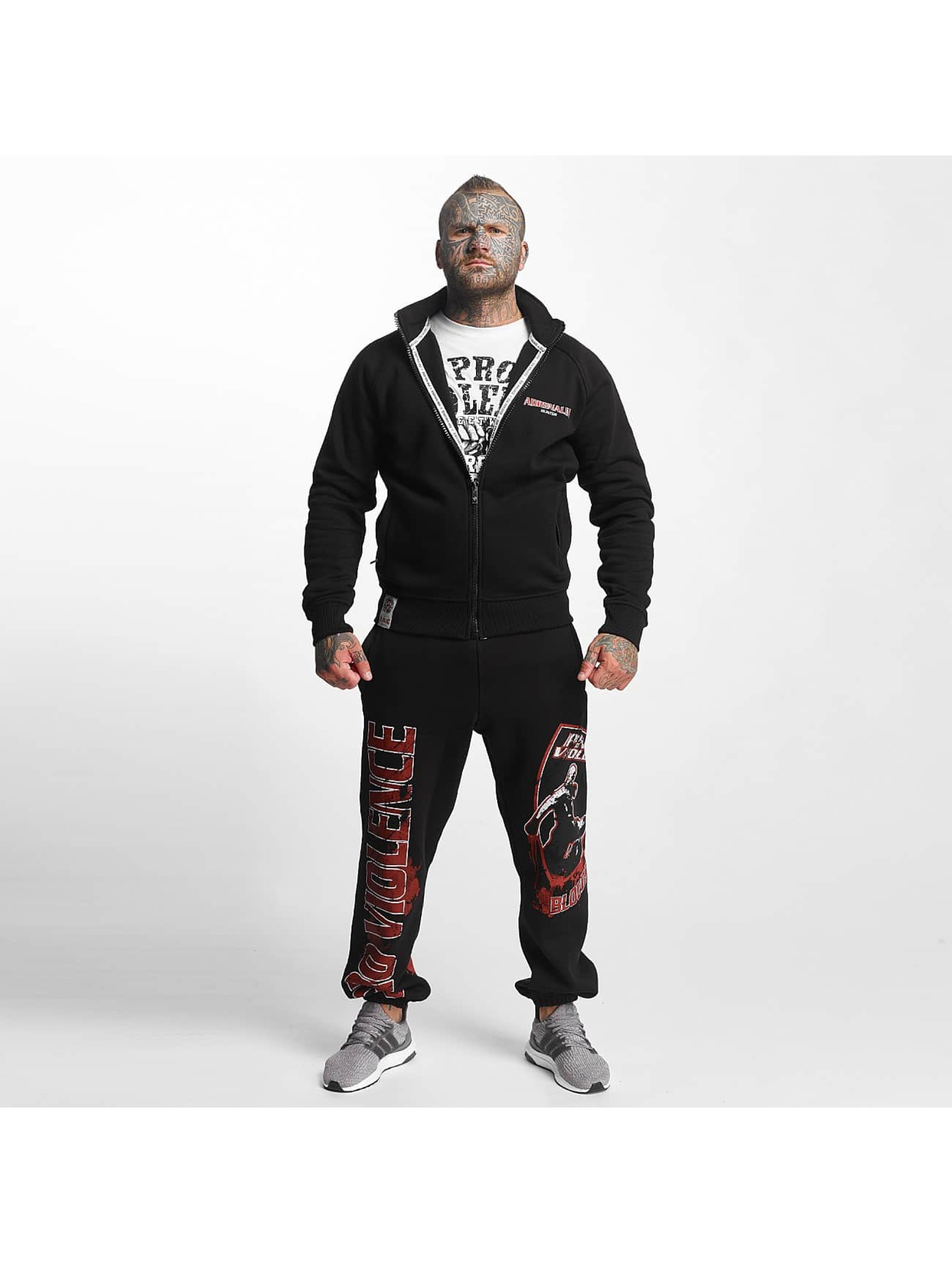 Pro Violence Streetwear Prechodné vetrovky Adrenlin Hunter èierna