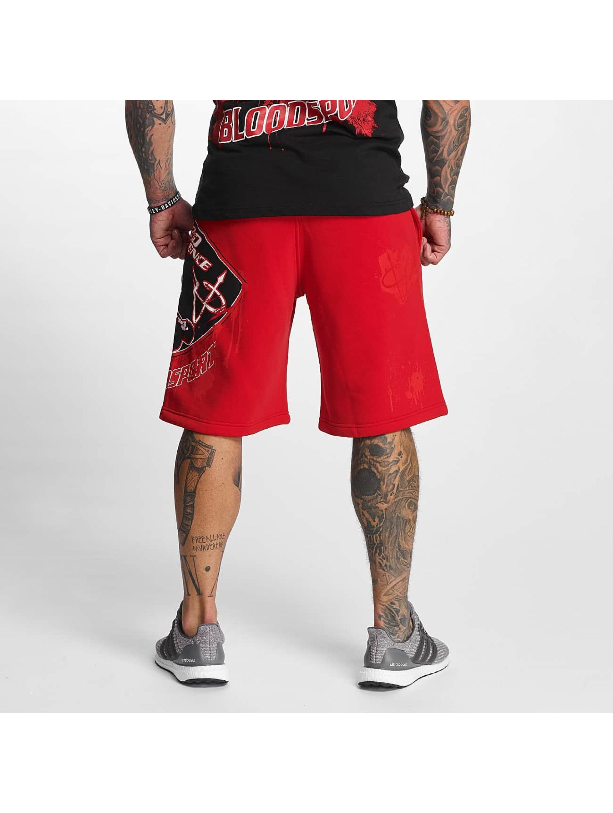 Pro Violence Streetwear Short Bloodsport rouge
