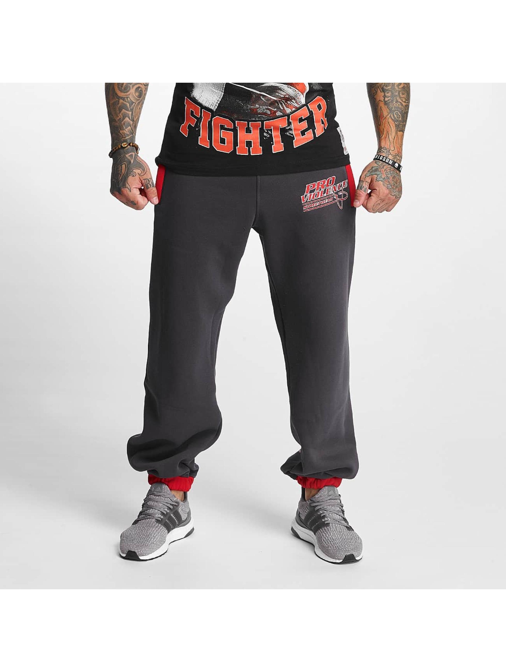 Pro Violence Streetwear Sweat Pant Sport grey