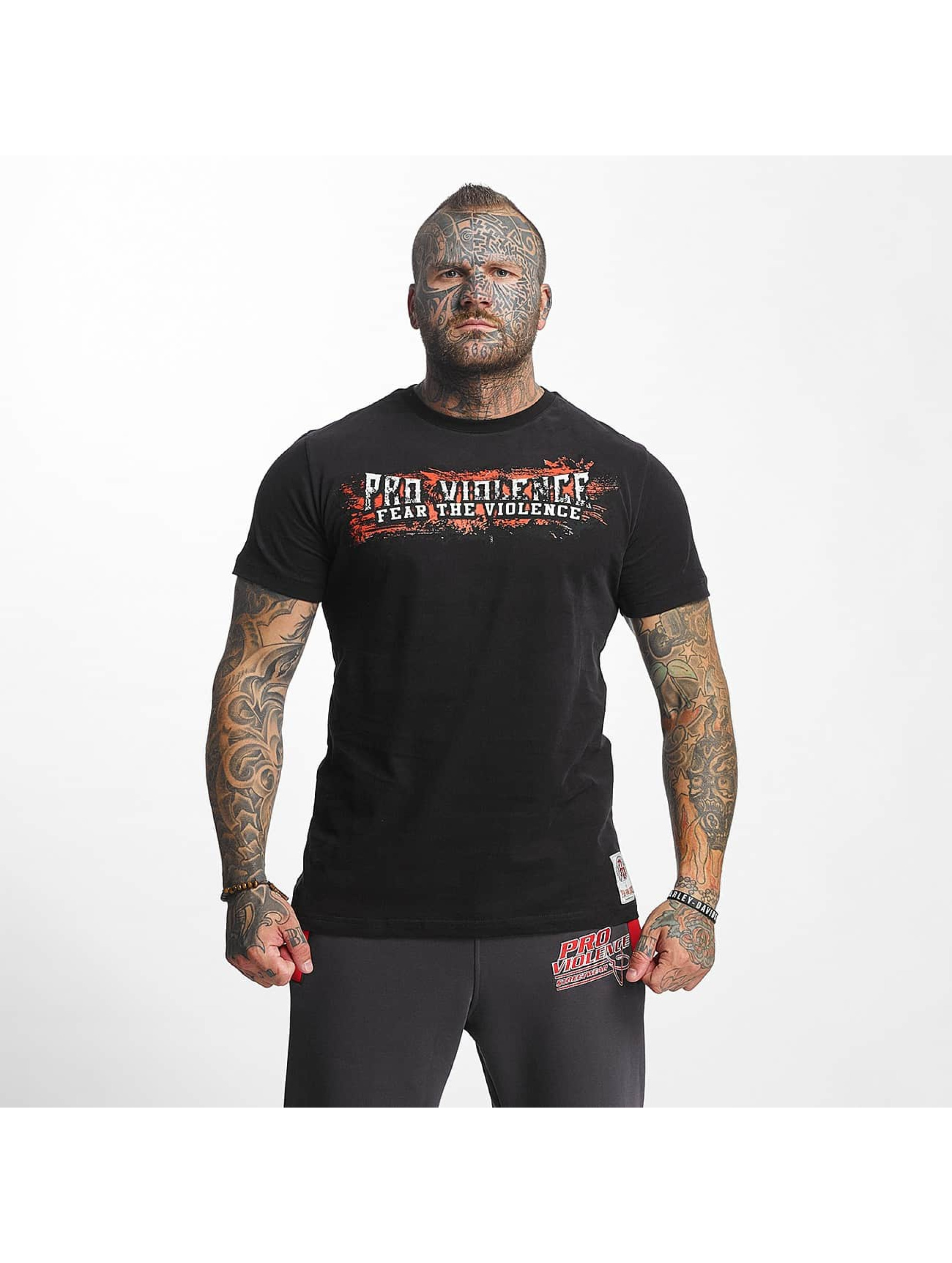 Pro Violence Streetwear T-Shirt The Violence Fear black