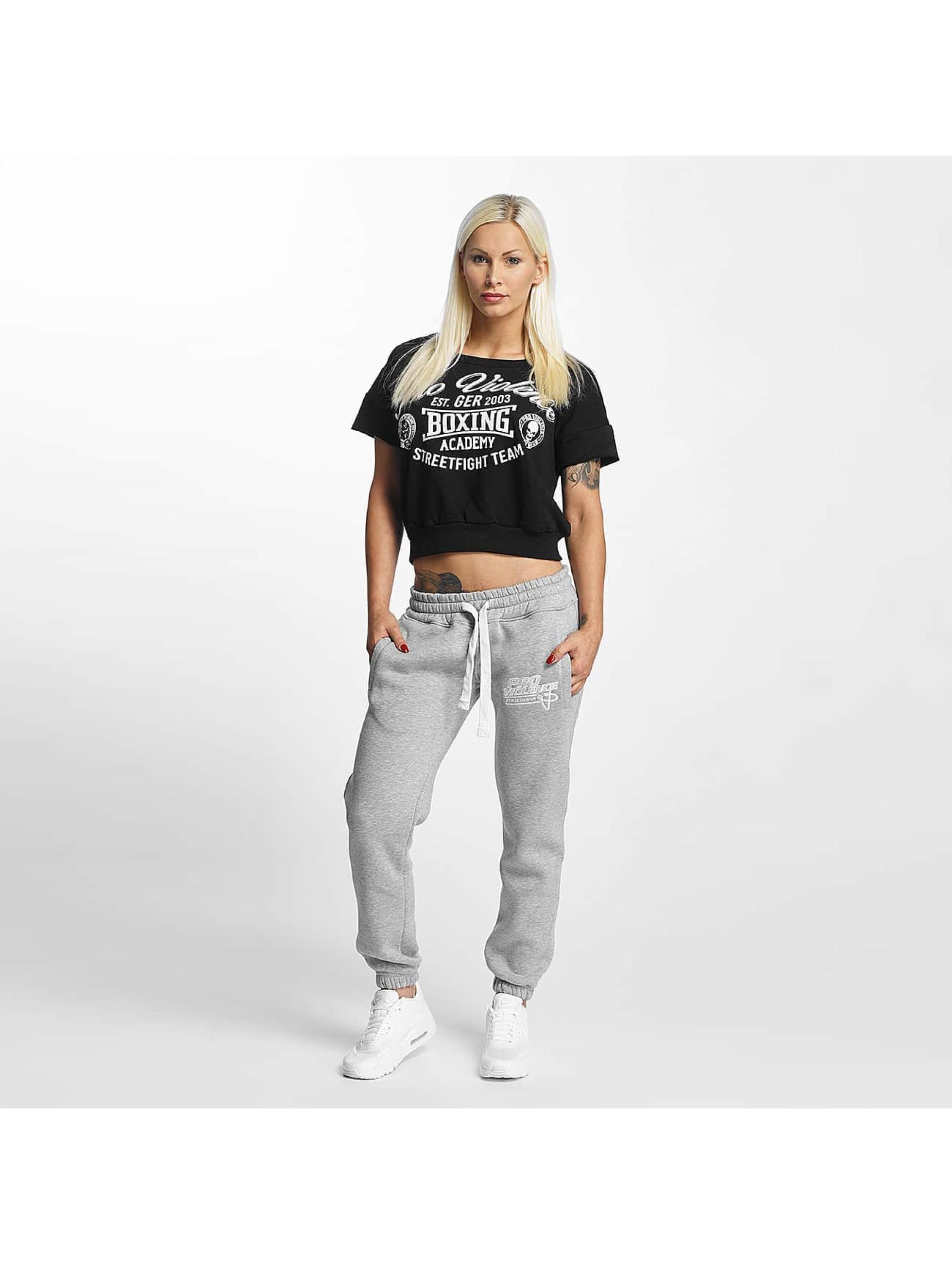 Pro Violence Streetwear T-Shirt Boxing noir