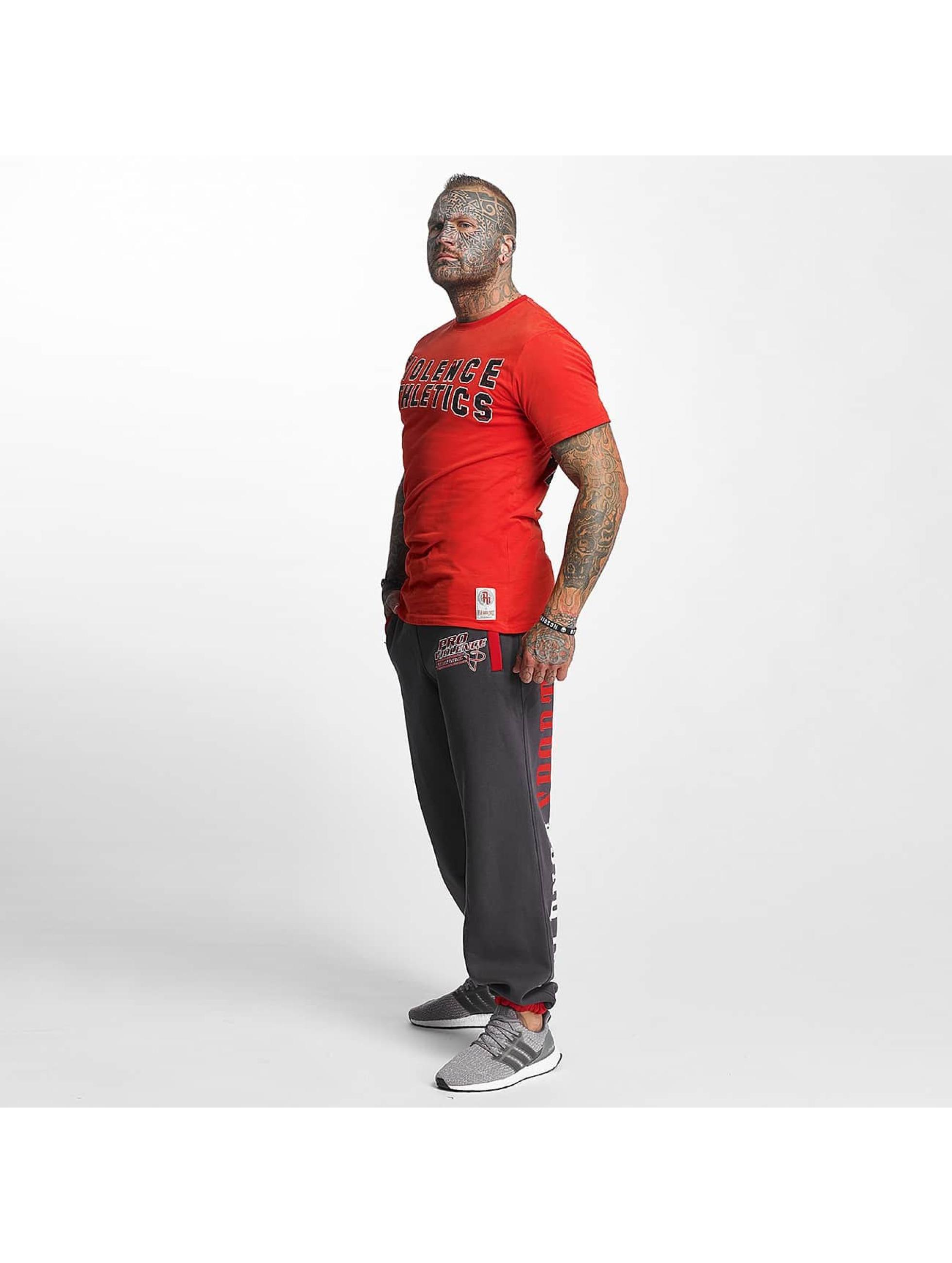 Pro Violence Streetwear T-Shirt Athletics rouge