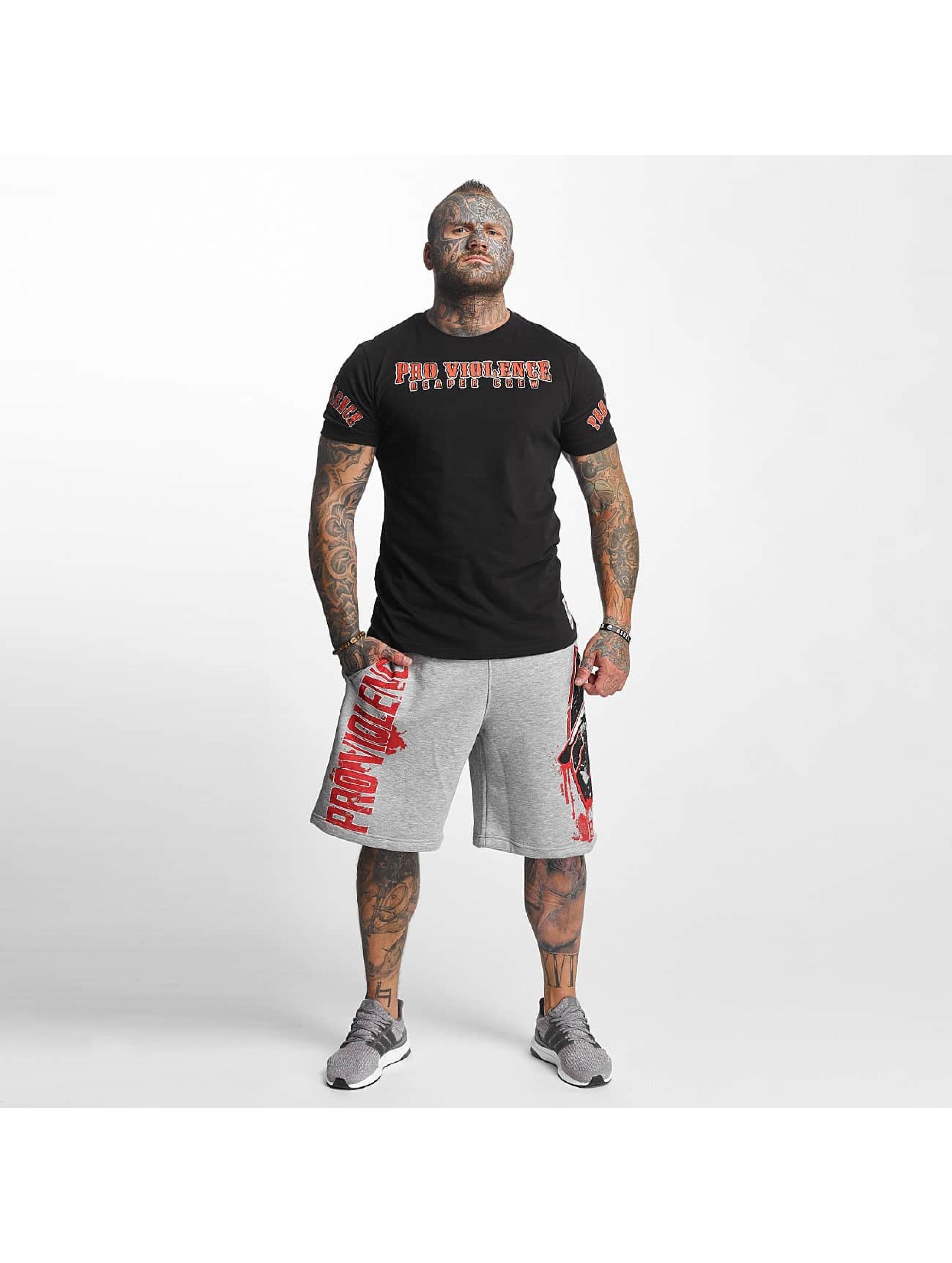 Pro Violence Streetwear T-Shirt Reaper schwarz