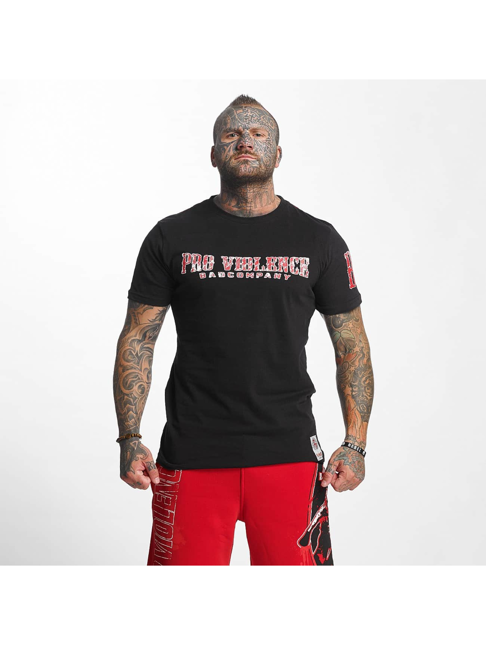 Pro Violence Streetwear T-Shirt BLN City schwarz