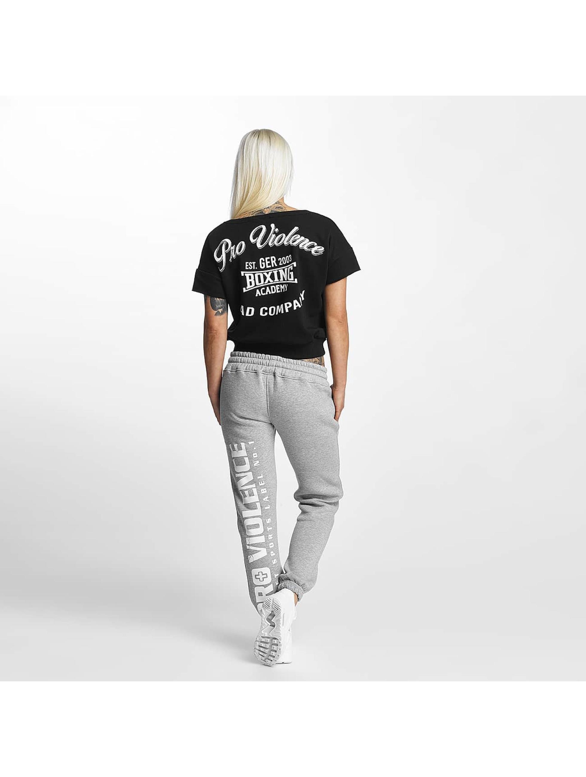 Pro Violence Streetwear T-Shirt Boxing schwarz