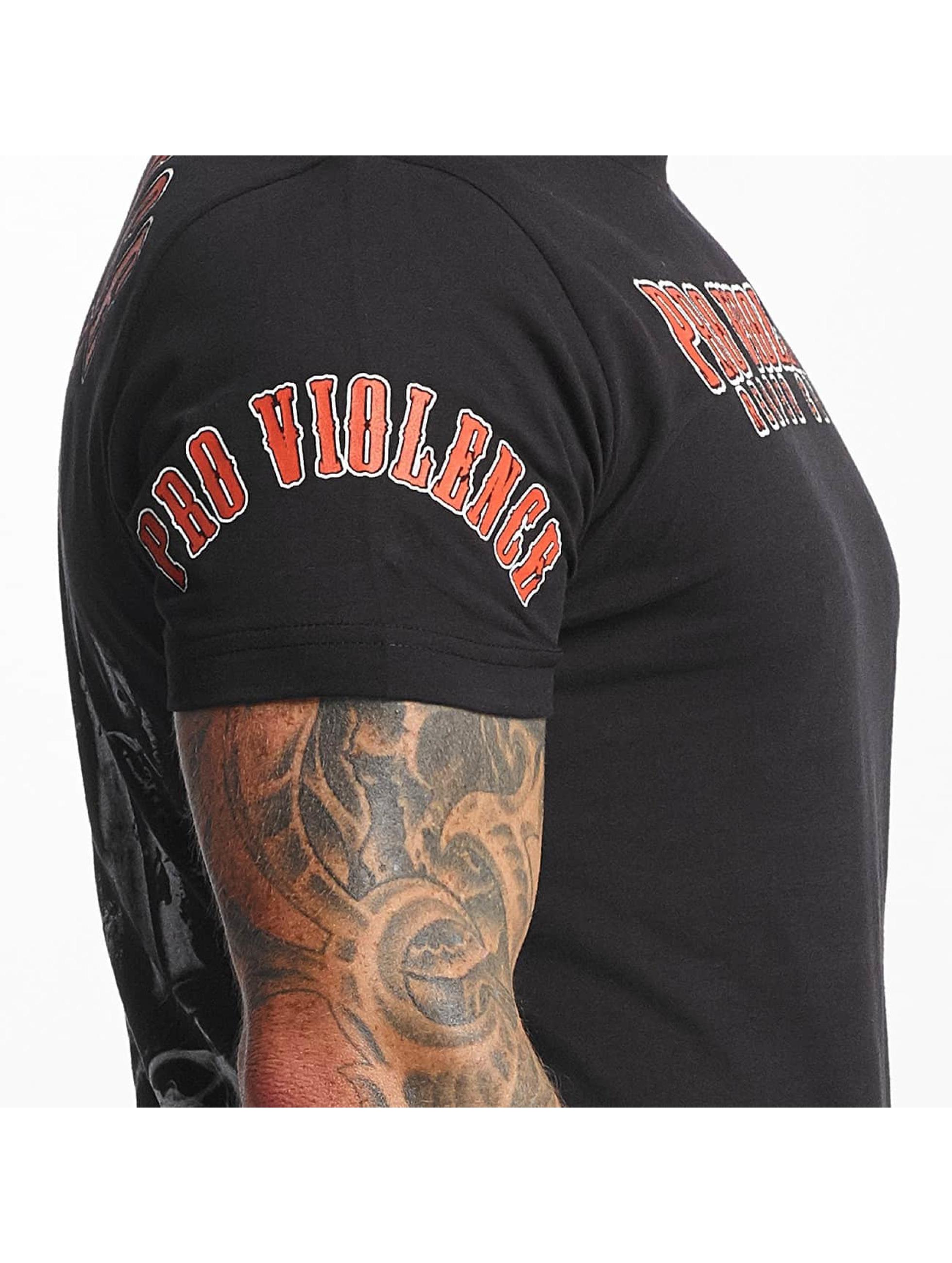 Pro Violence Streetwear t-shirt Reaper zwart