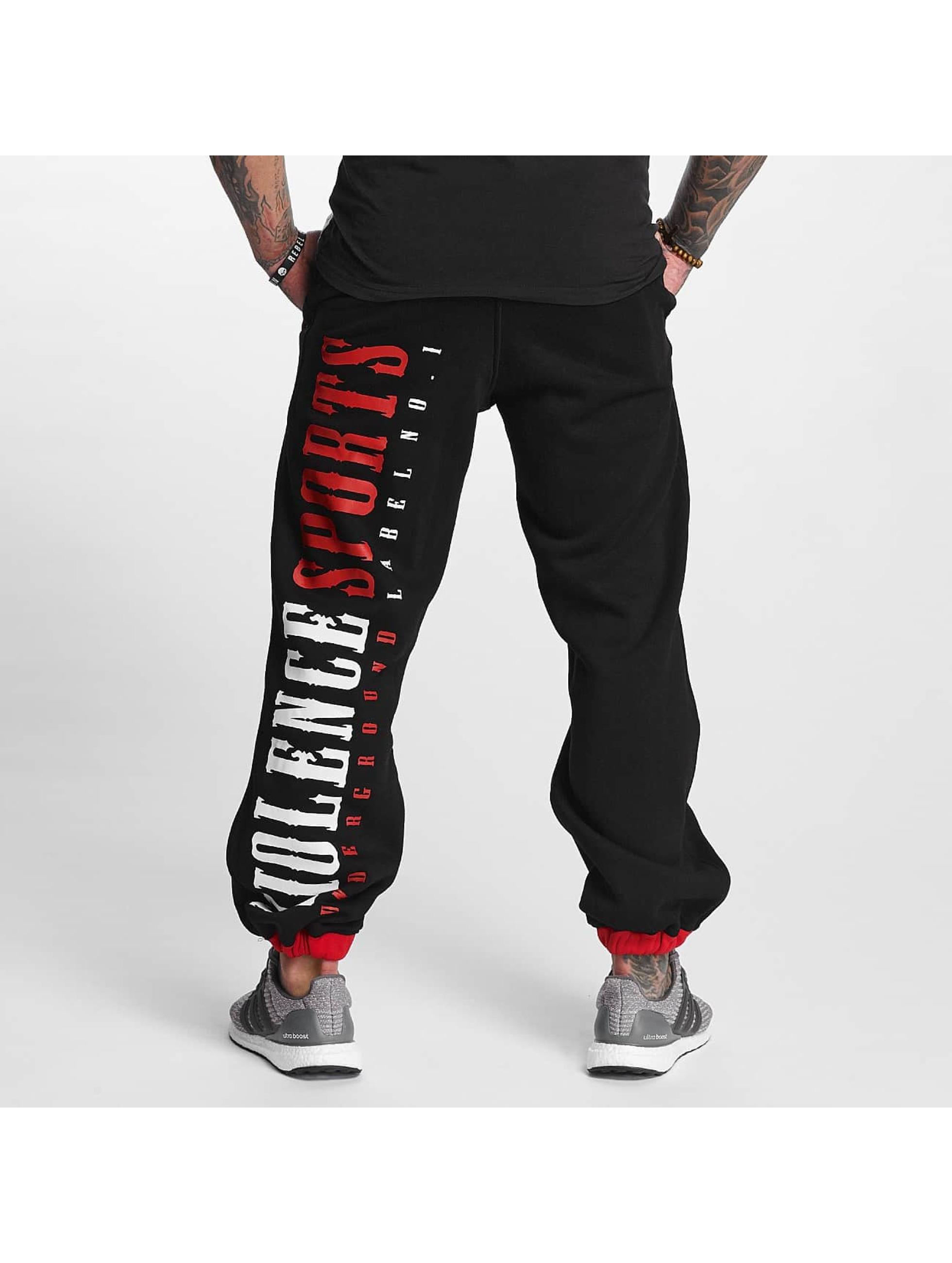 Pro Violence Streetwear tepláky Streetwear Sport èierna