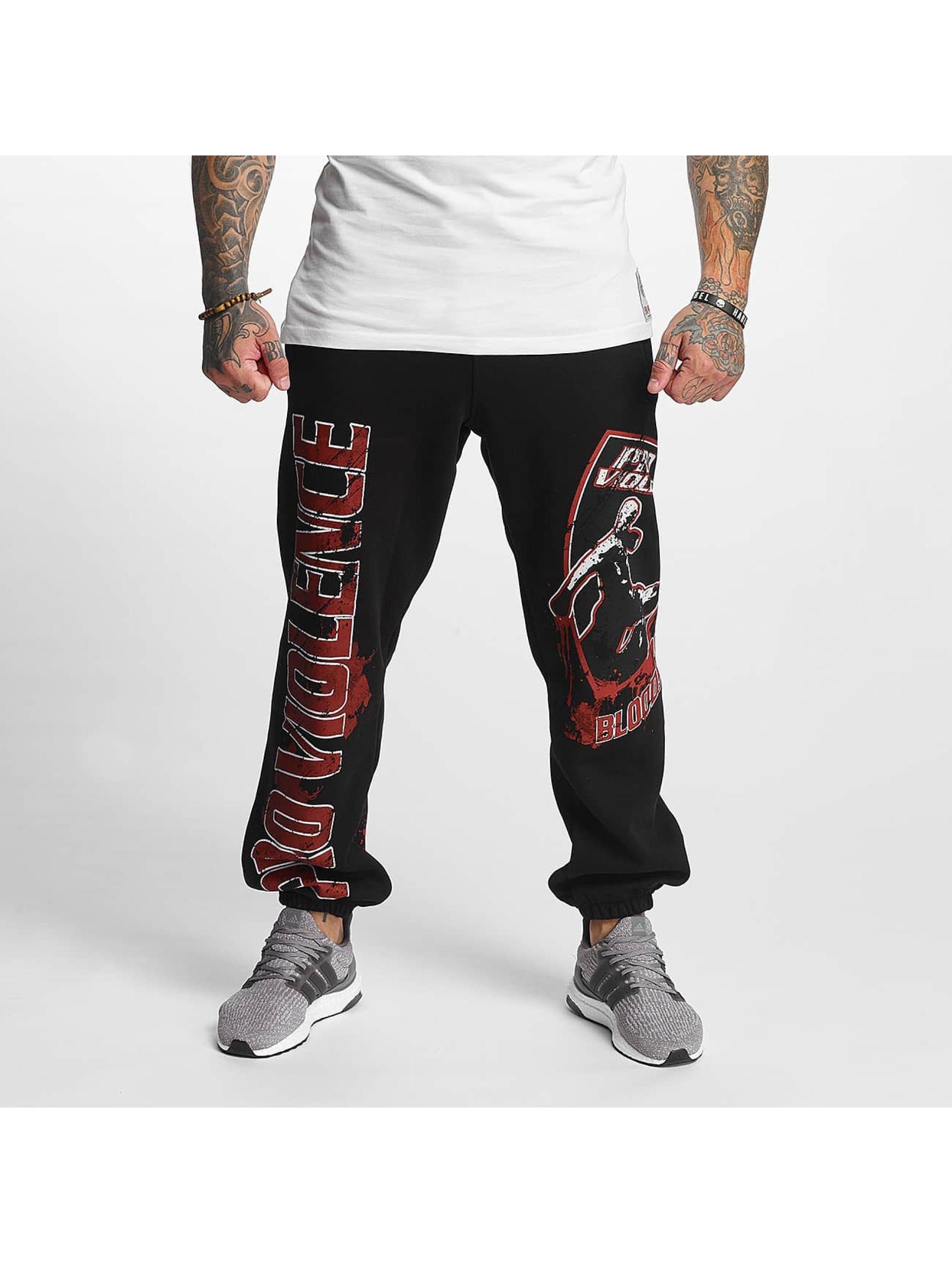 Pro Violence Streetwear tepláky Bloodsport èierna