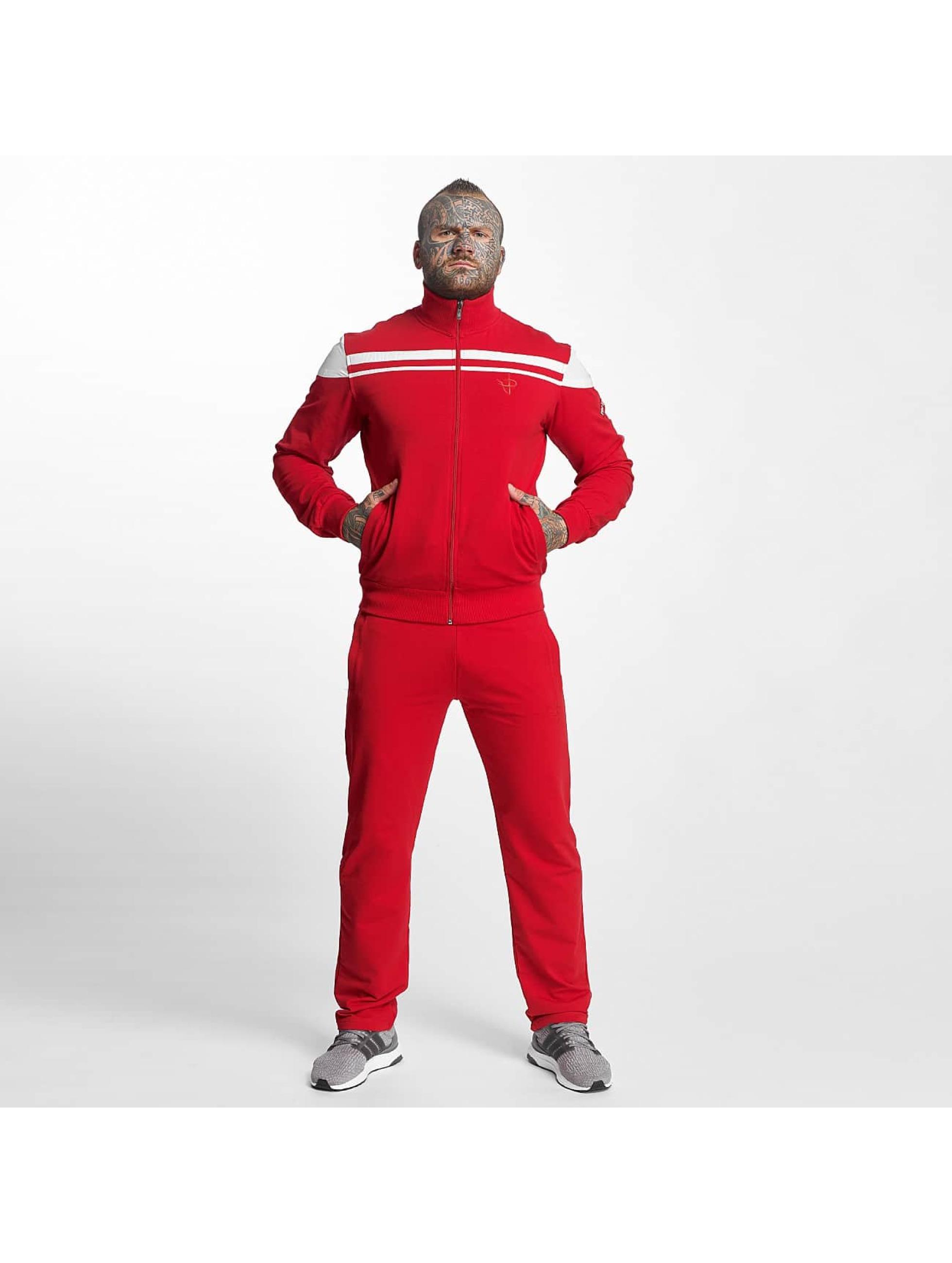 Pro Violence Streetwear heren trainingspak Cosy - rood