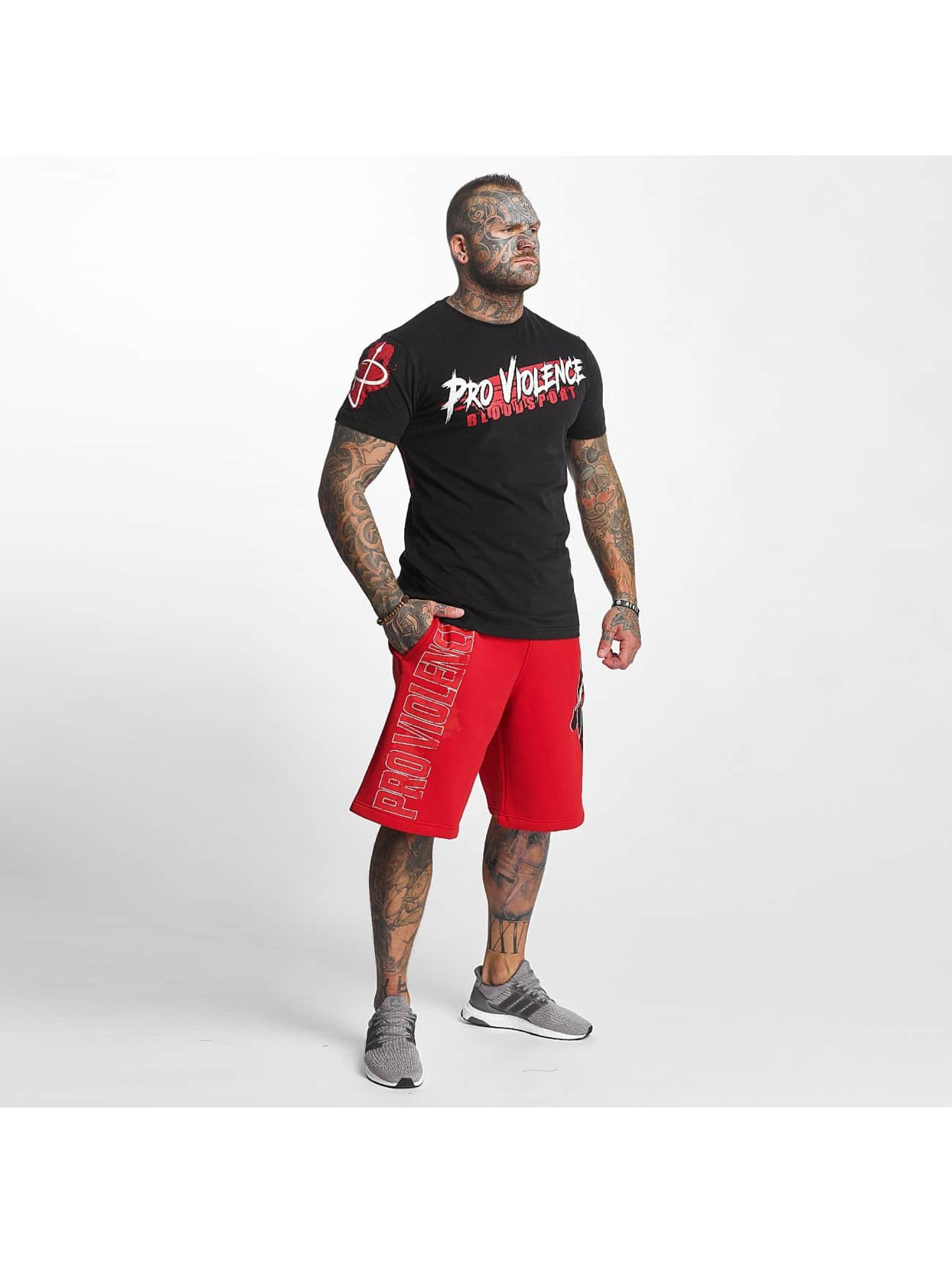 Pro Violence Streetwear Tričká Bloodsport èierna