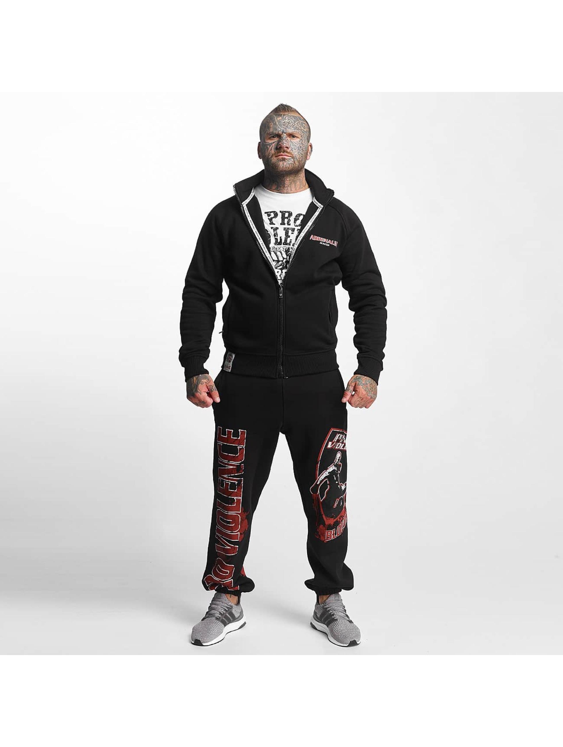 Pro Violence Streetwear Übergangsjacke Adrenlin Hunter schwarz
