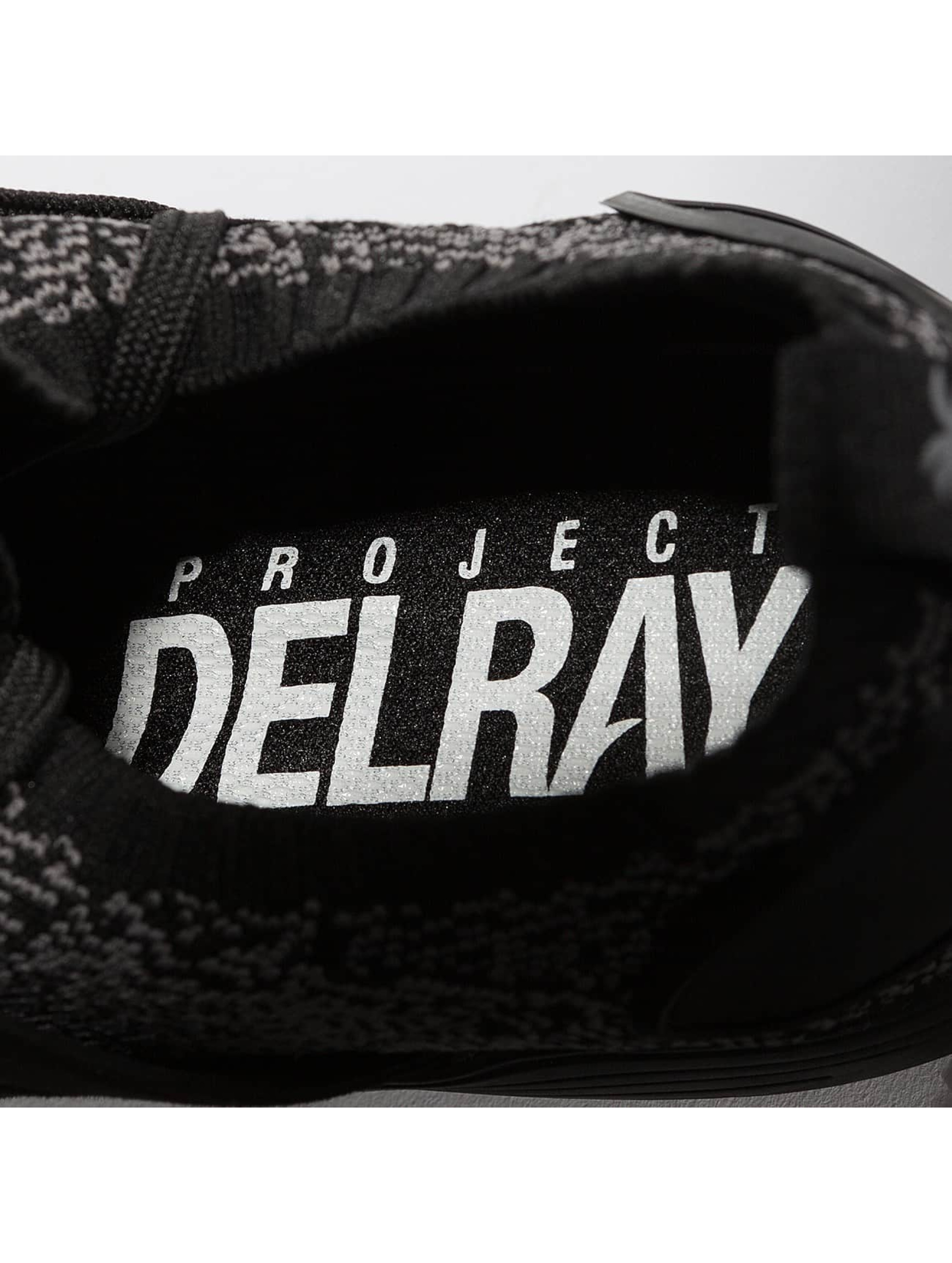 Project Delray Sneakers Wavey èierna