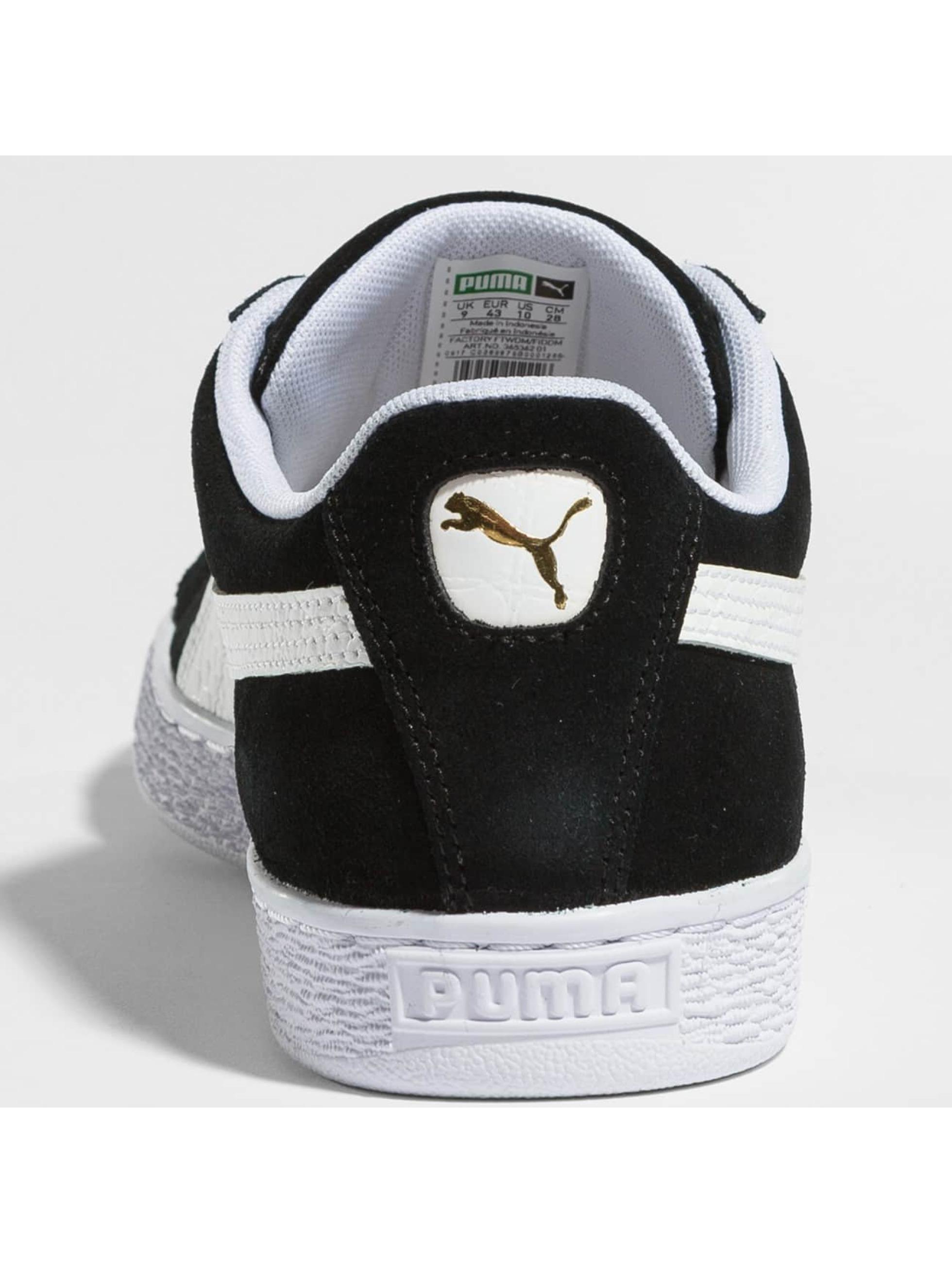 Puma Сникеры BBoy Fabulous Suede Classic черный