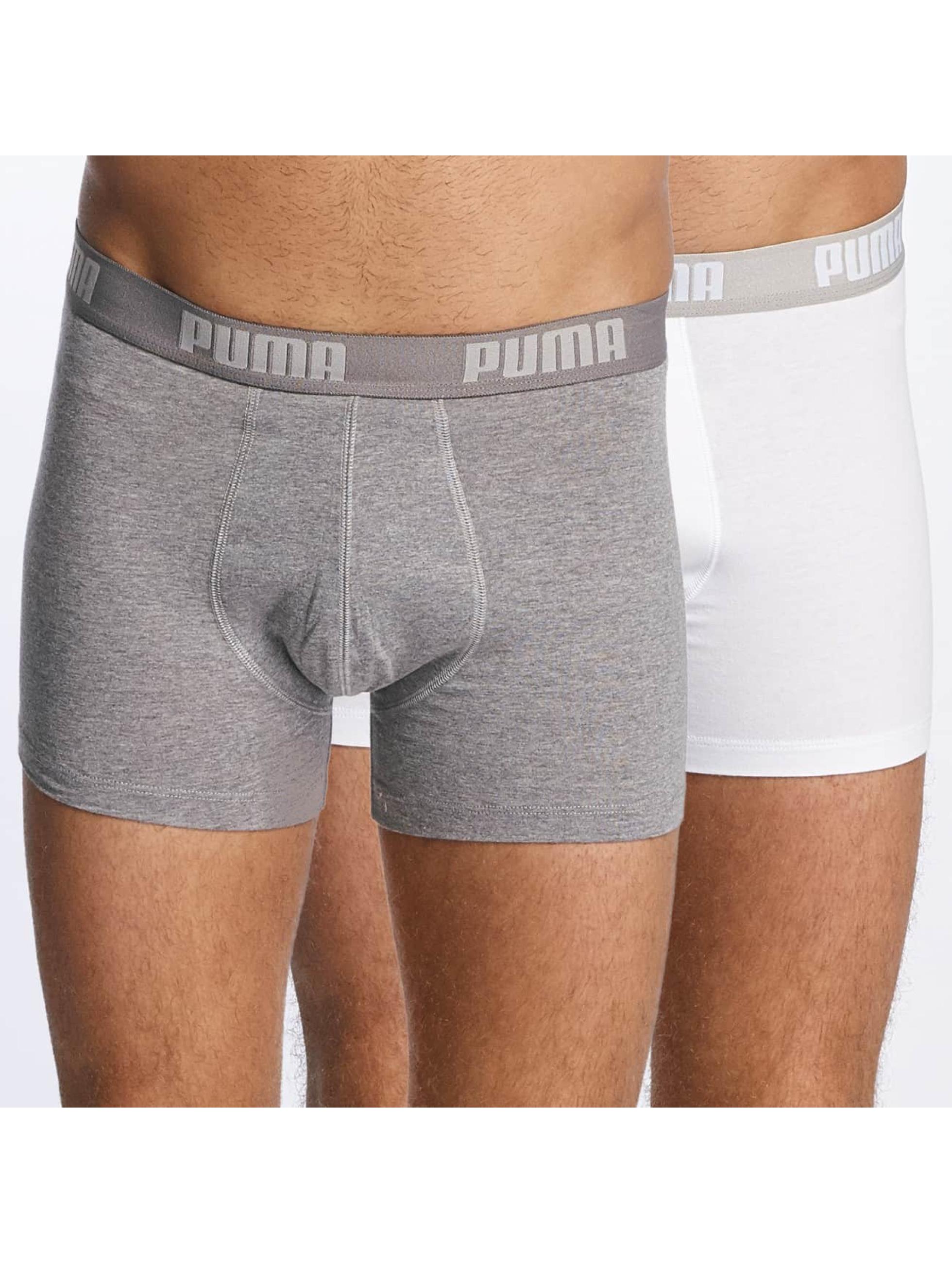 Puma Boxer 2-Pack Basic blanc