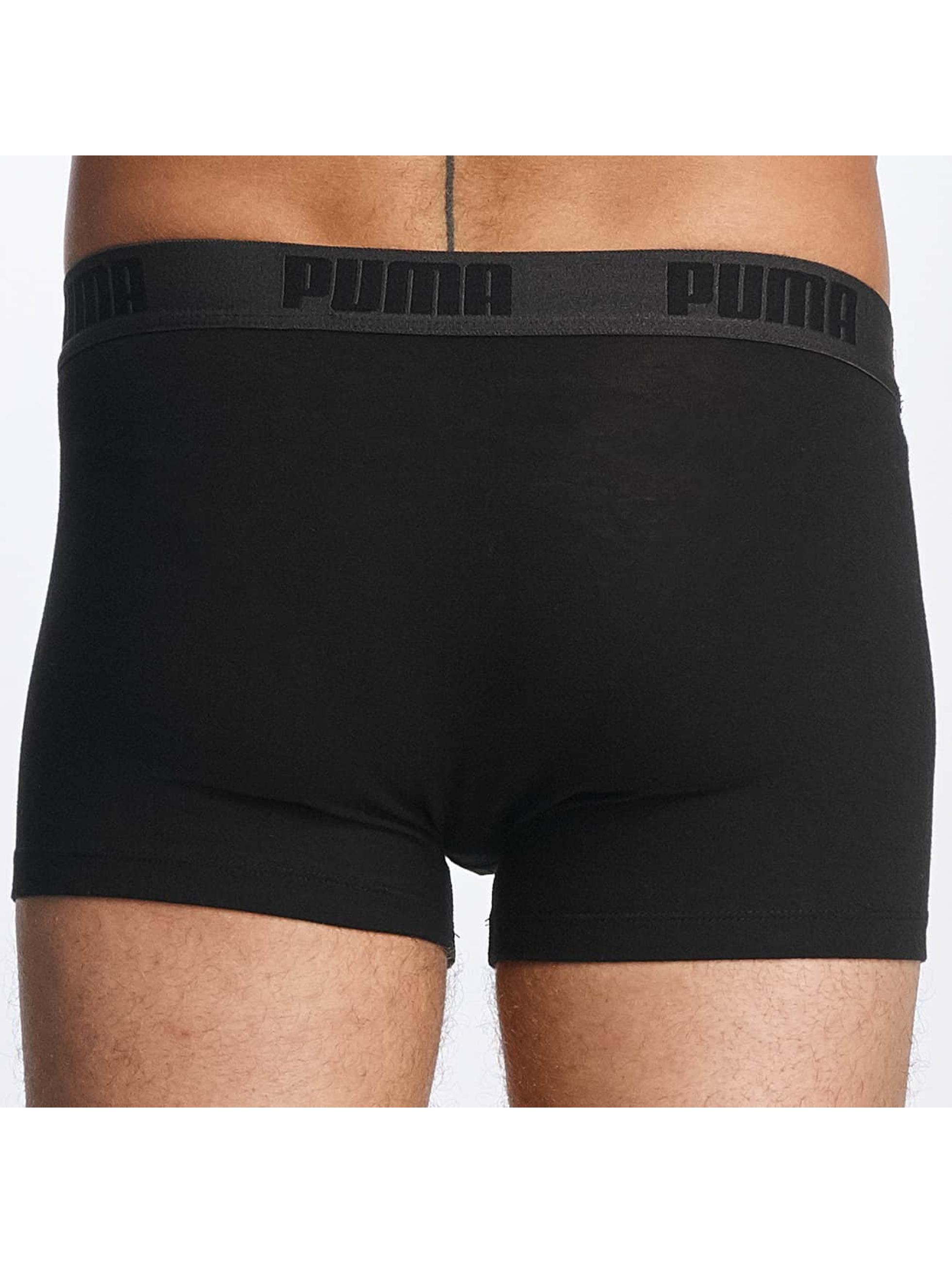 Puma Boxer 2-Pack Basic Trunk noir