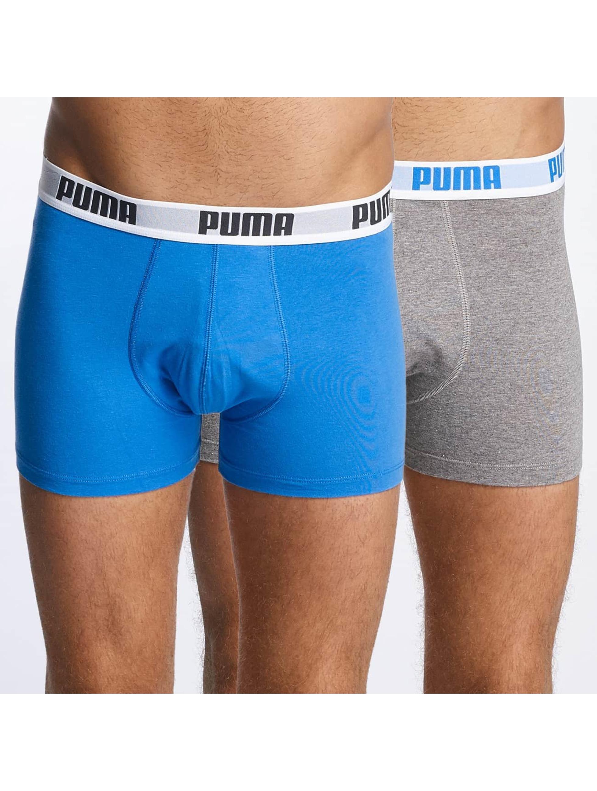 Puma boxershorts 2-Pack Basic blauw