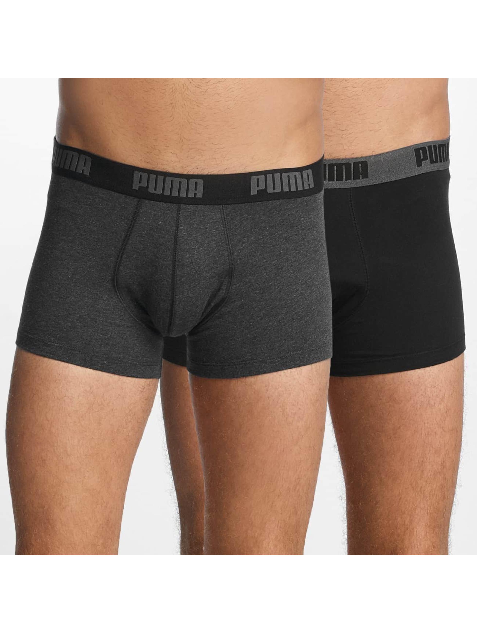 Puma boxershorts 2-Pack Basic Trunk grijs